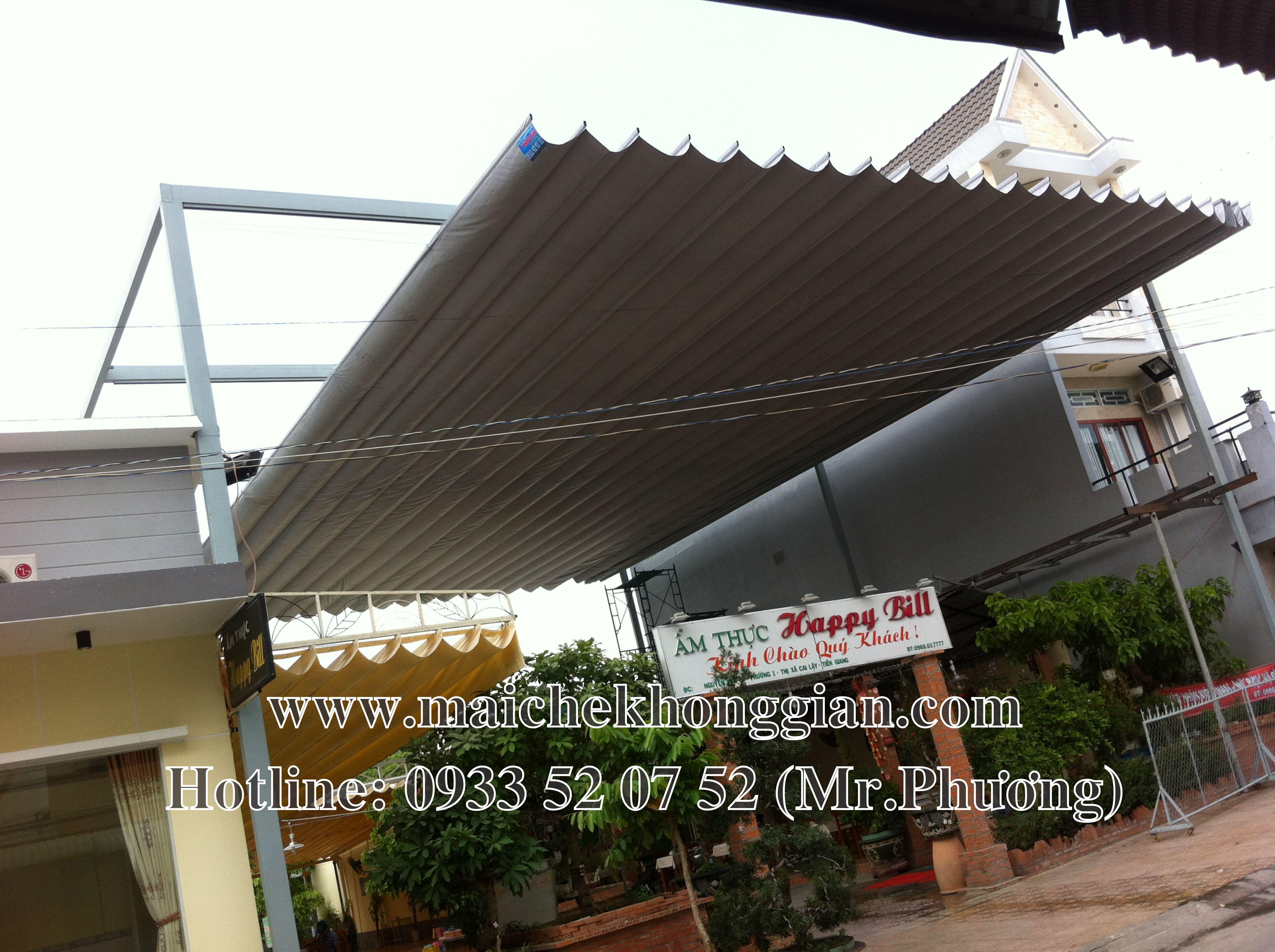 Mái Che nhà hàng