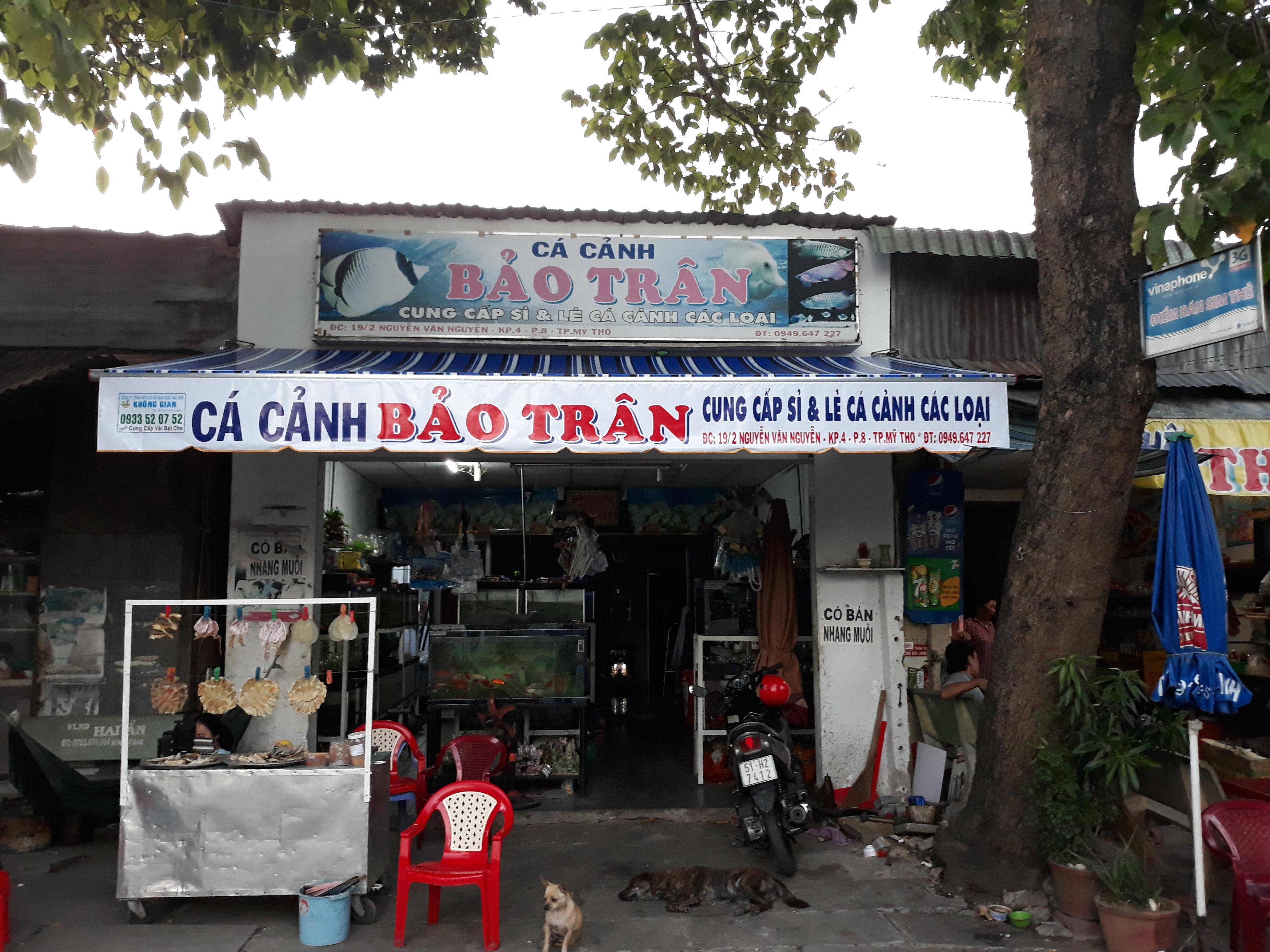 Mái Hiên Quảng Cáo Cửa Hàng Huyện Tam Bình Vĩnh Long