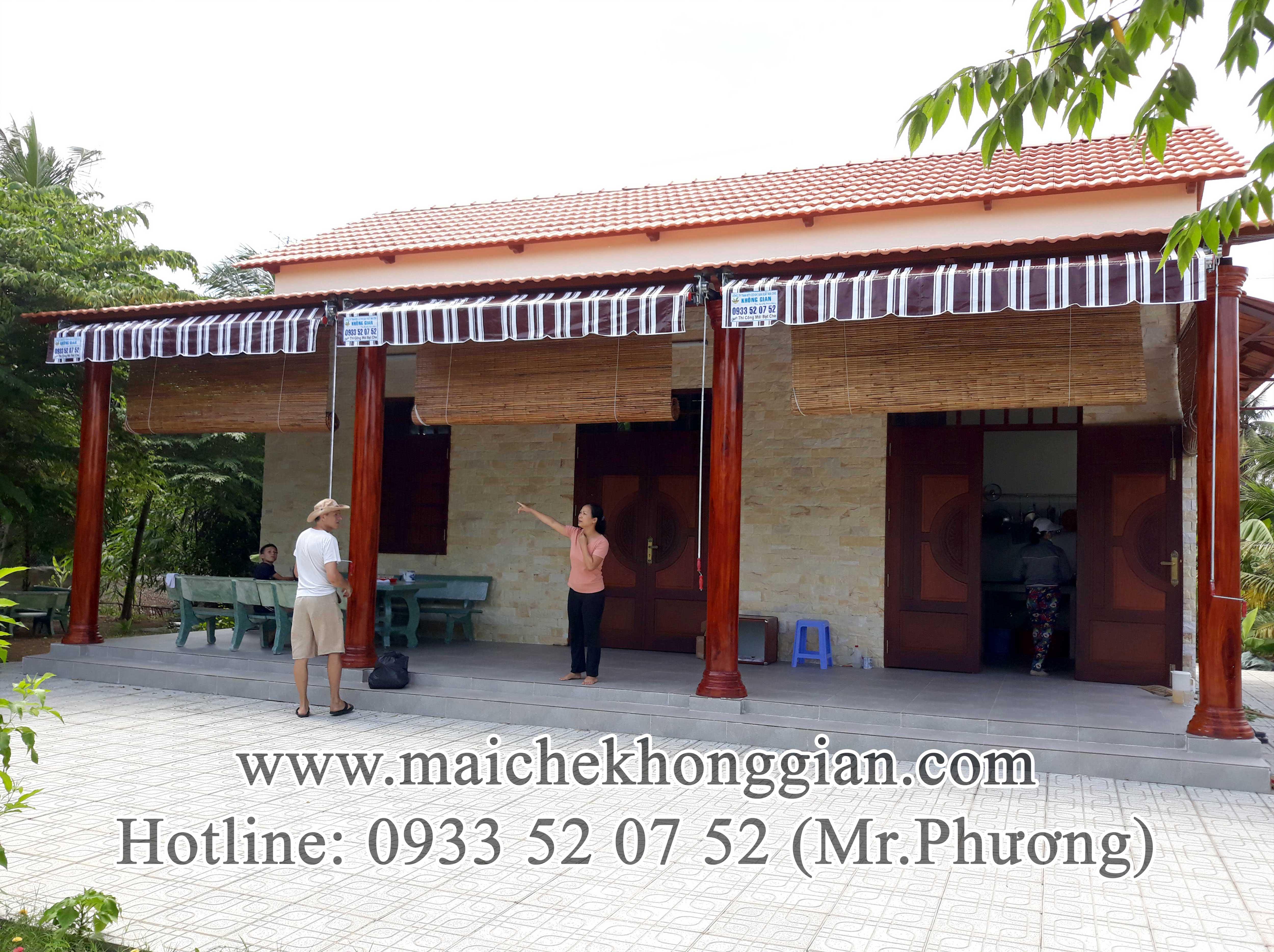 Mái Hiên Di Động Thị Xã Vĩnh Châu Sóc Trăng