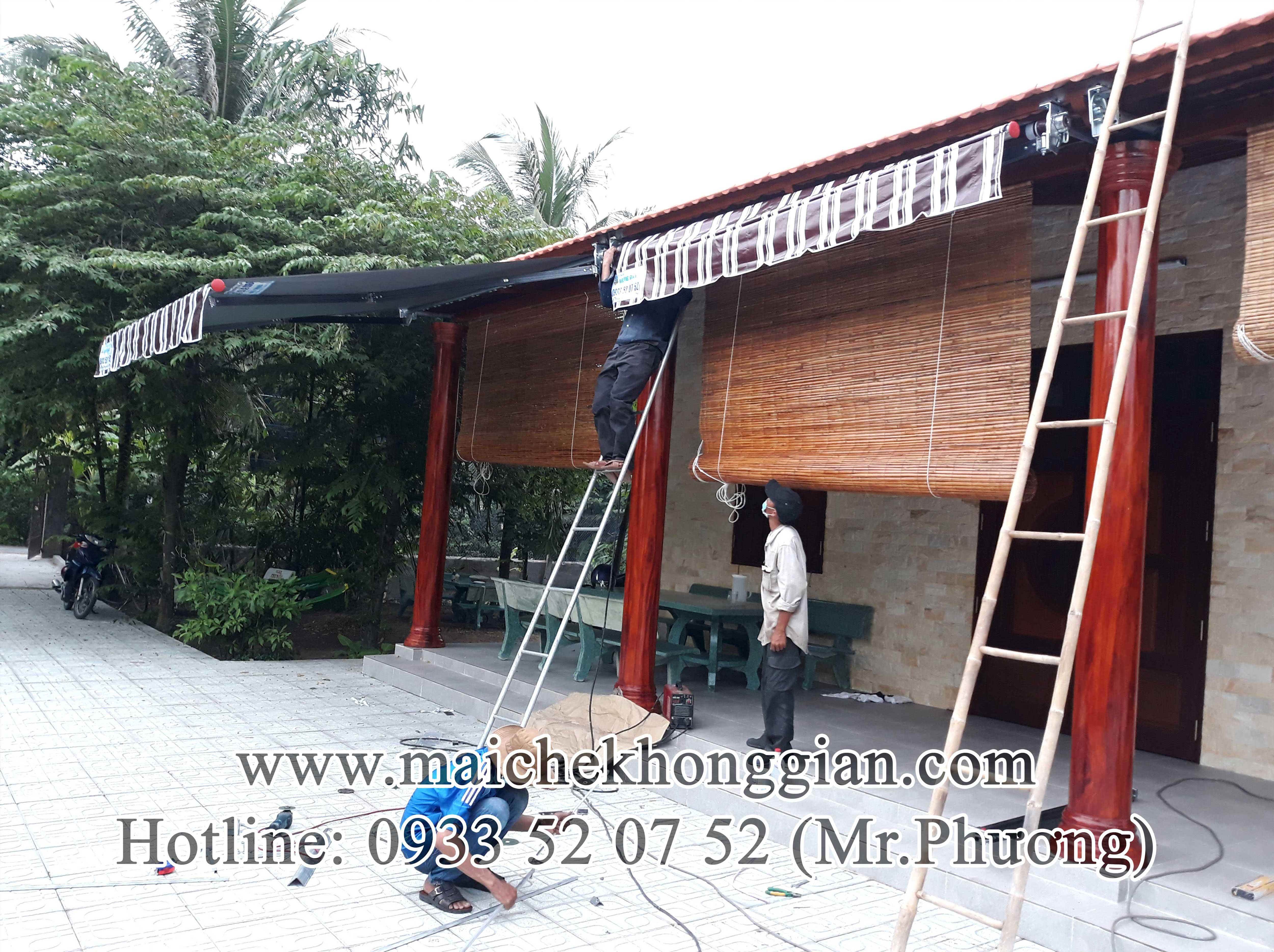 Mái Hiên Di Động Huyện Thanh Trị Sóc Trăng