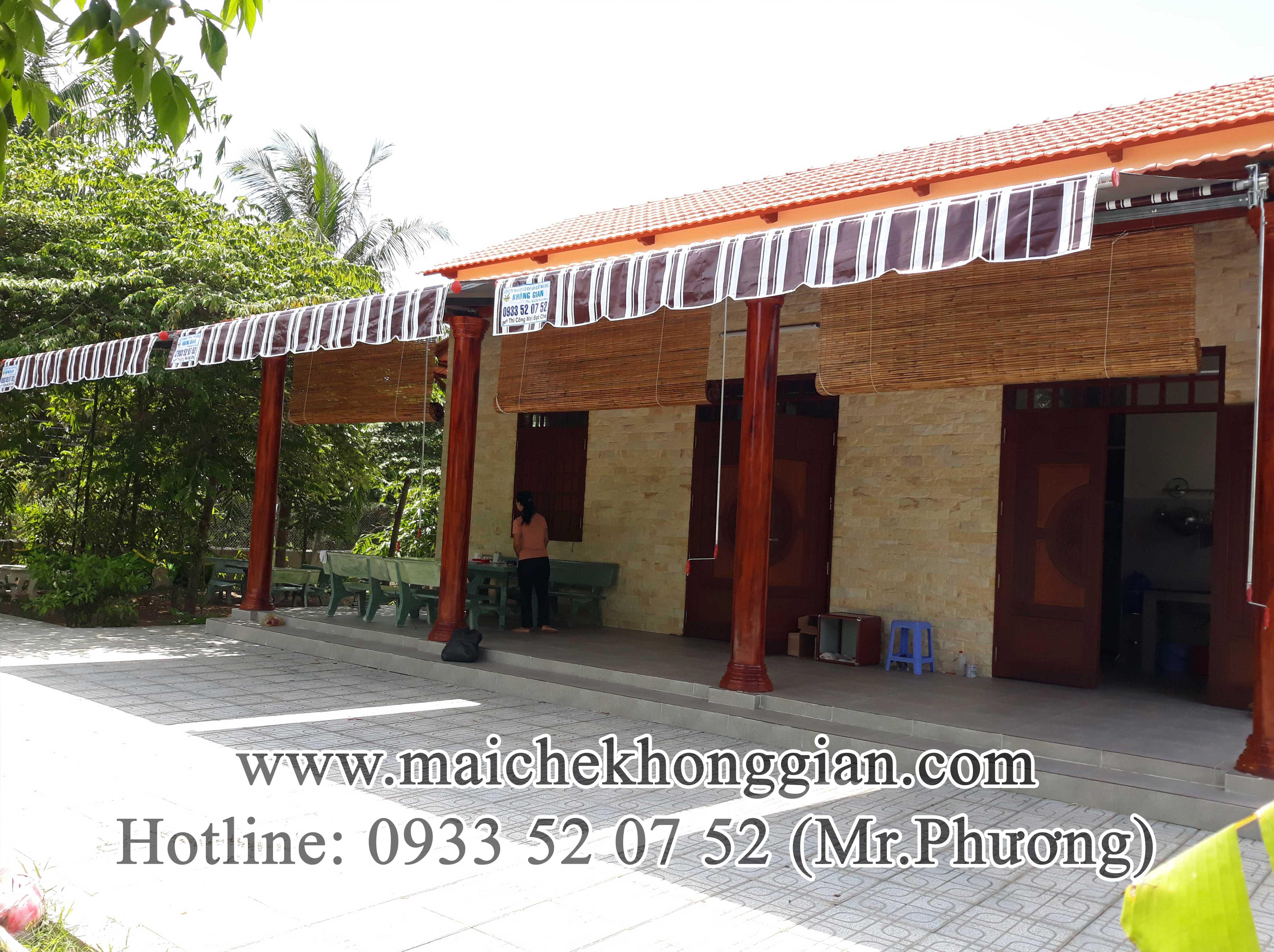 Mái Hiên Che Mưa Nắng Tân Phú Đông Tiền Giang