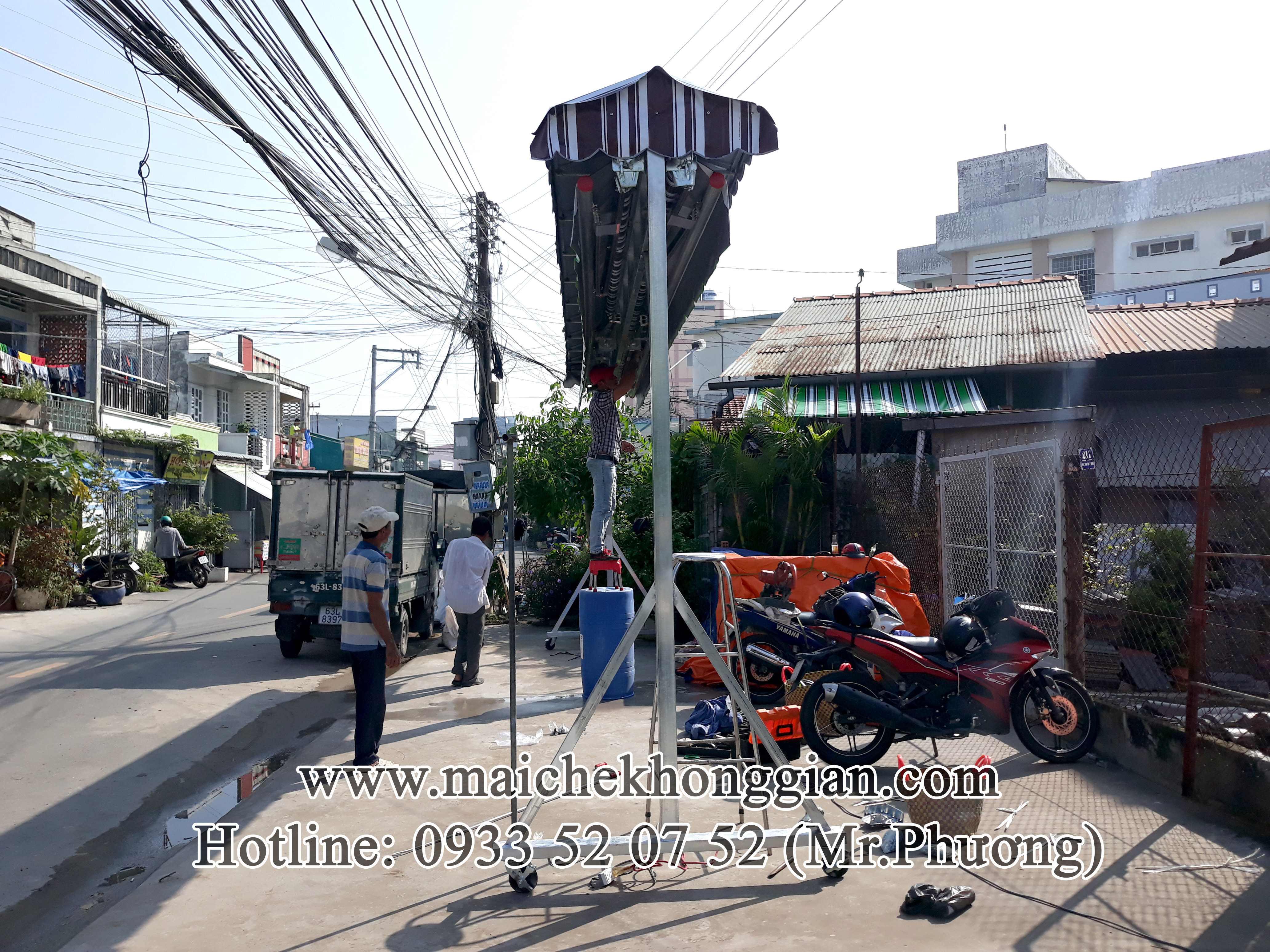 Mái Hiên Đôi Tân Phú Đông Tiền Giang