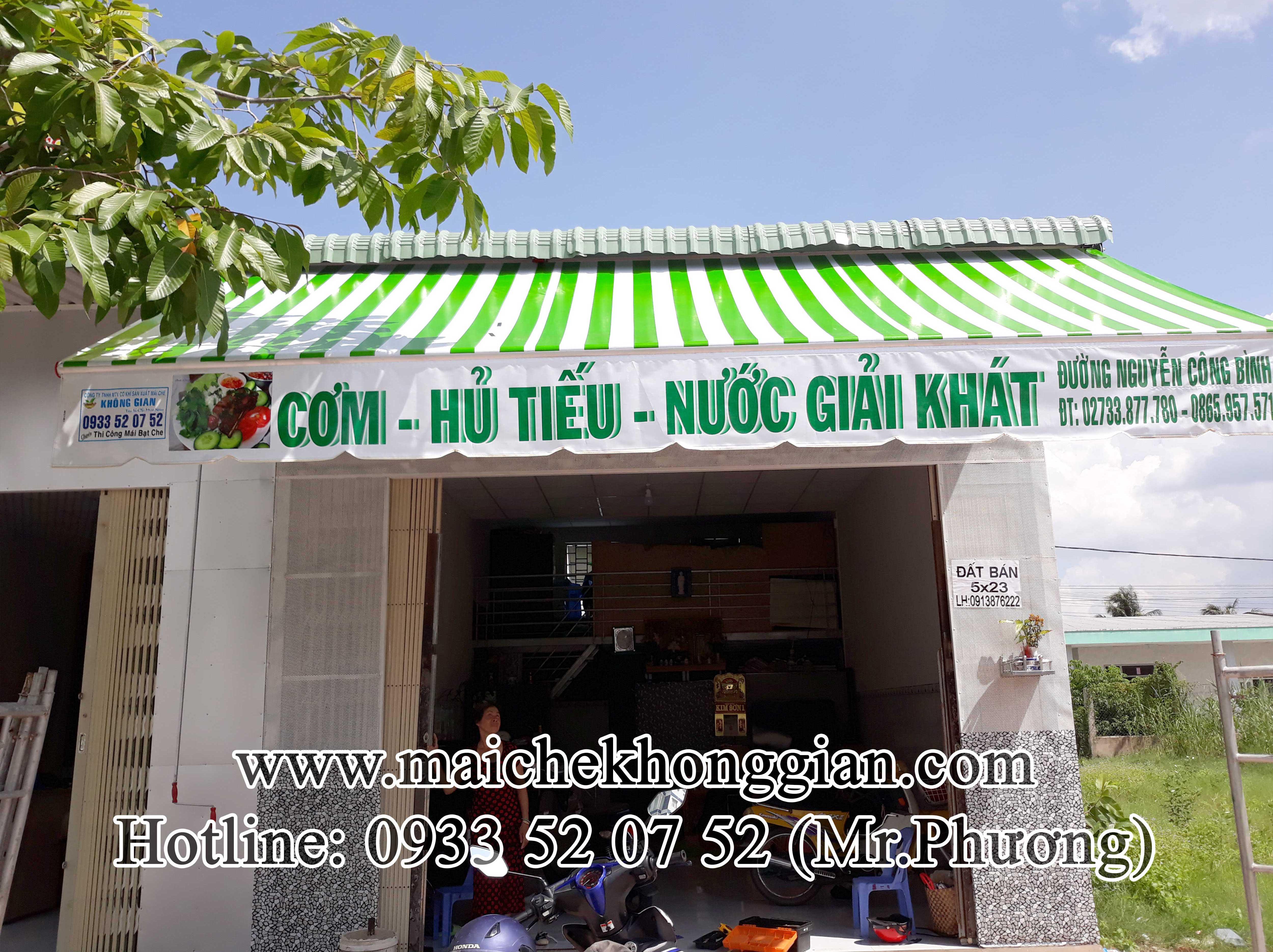 Mái hiên Quận Tân Phú Tp HCM