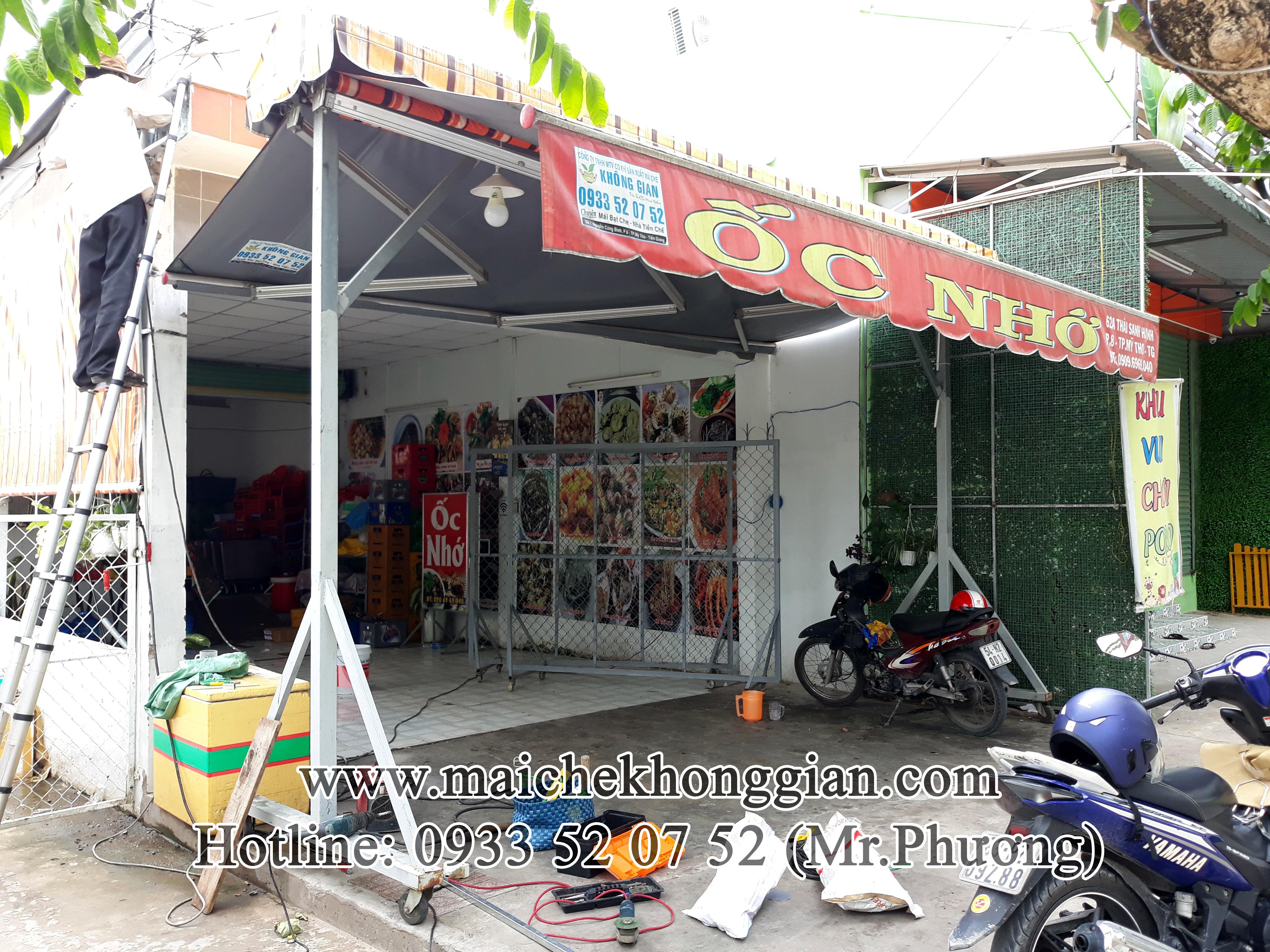 Mái Hiên Đôi Chữ A Lưu Động Huyện Bình Tân Vĩnh Long