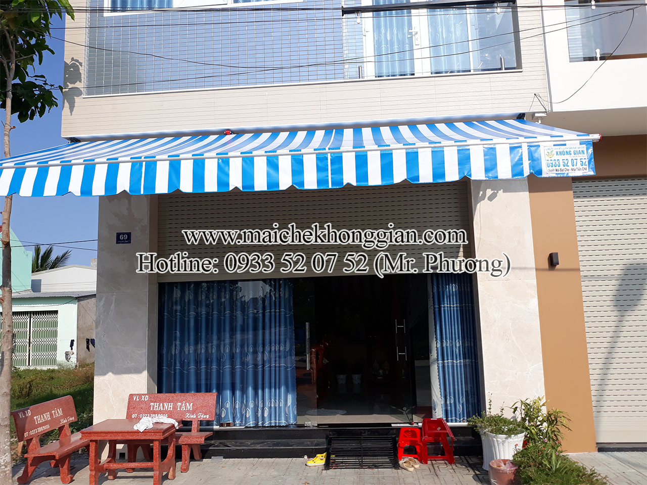Làm Mái Hiên Huyện Mang Thít Vĩnh Long