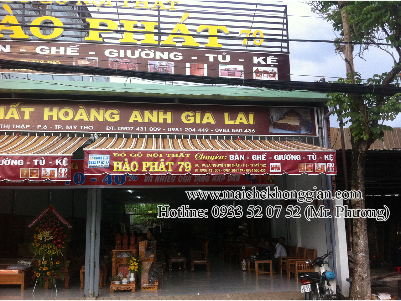 Lắp Mái Hiên Huyện Tam Bình Vĩnh Long