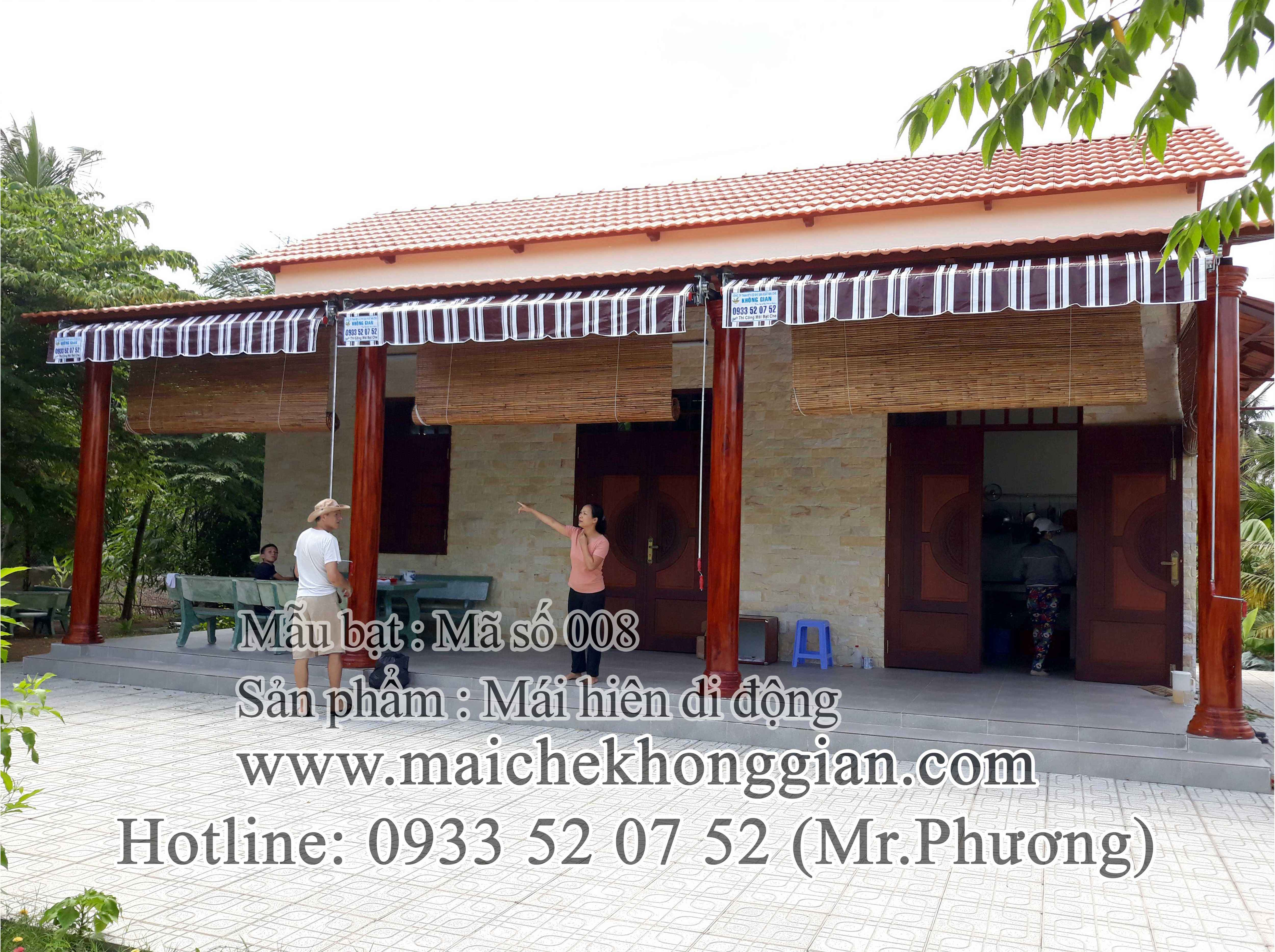 Mái Hiên Di Động Chợ Gạo Tiền Giang