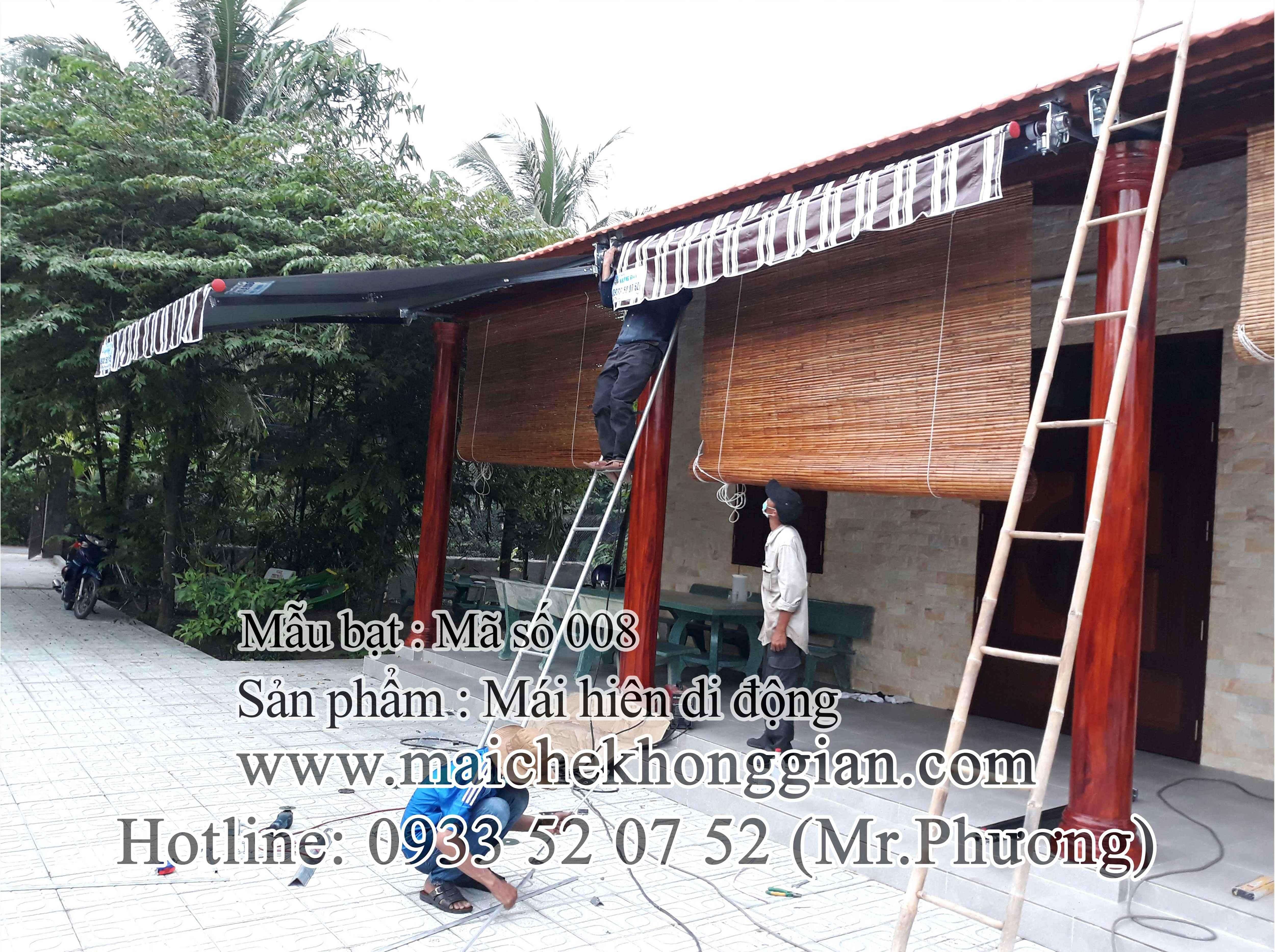 Mái Hiên Di Động Tân Phú Đông Tiền Giang
