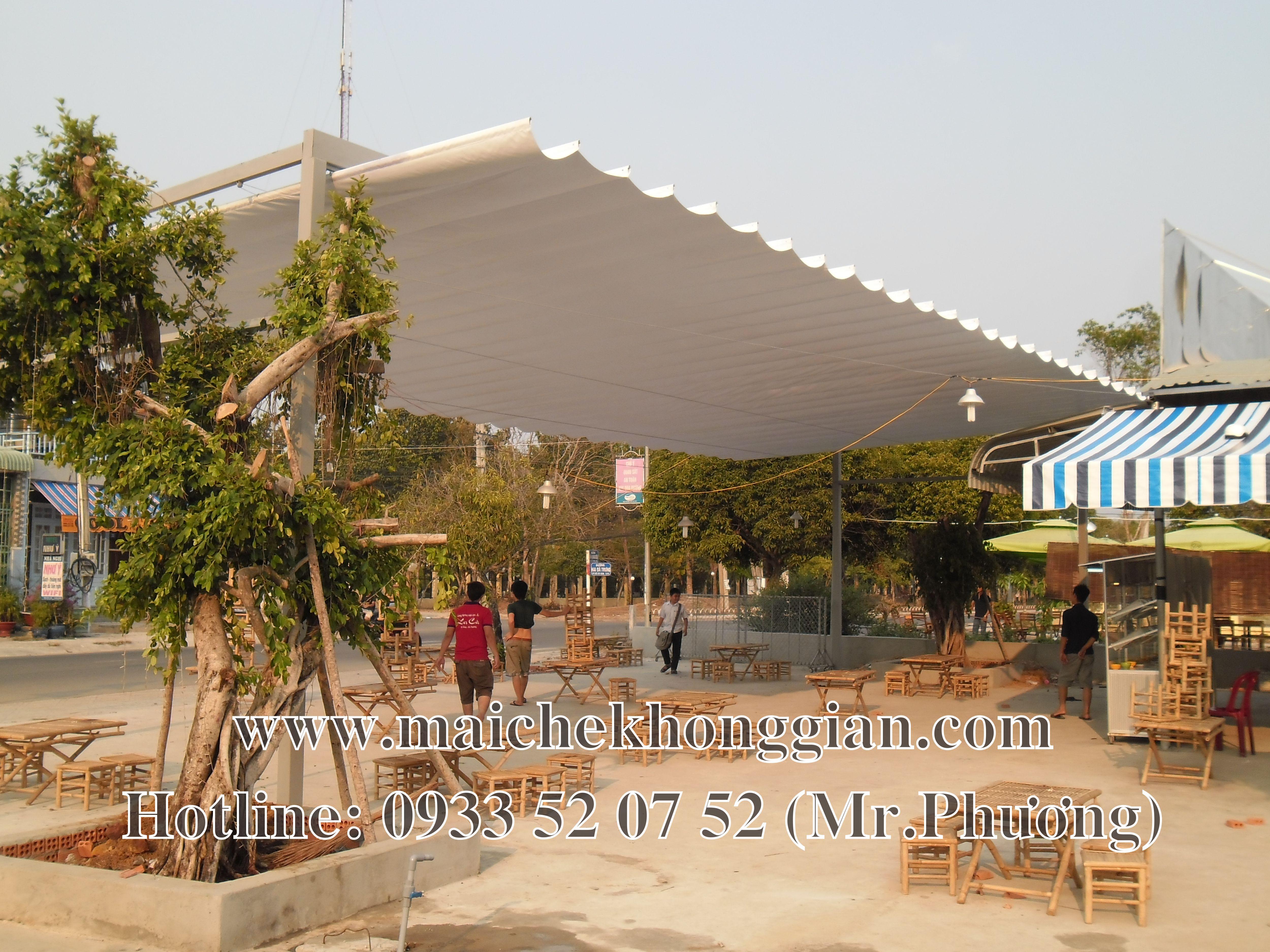 Bạt mái che Quận 2 TP Hồ Chí Minh