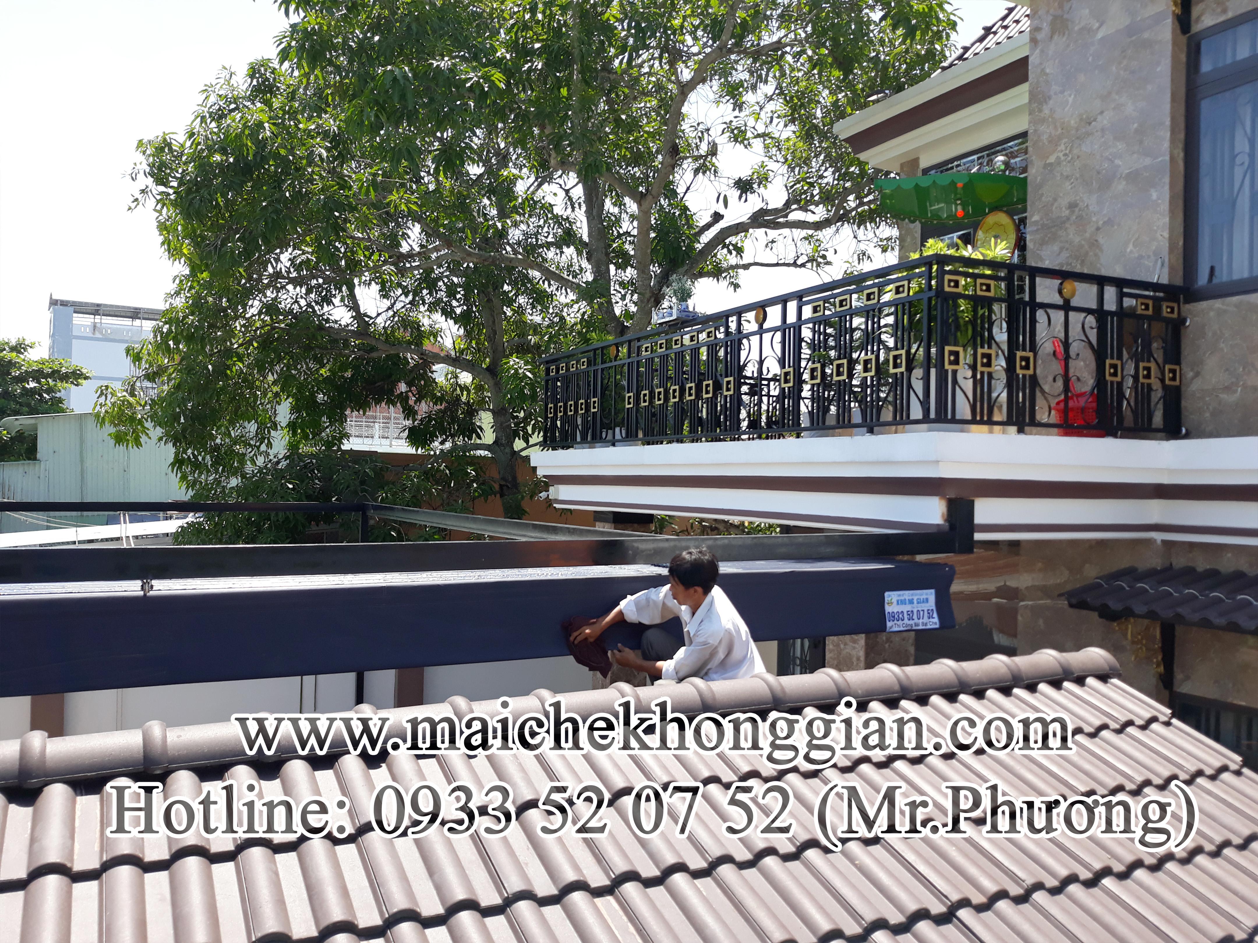 Mái Che Xếp Múi Chợ Gạo Tiền Giang