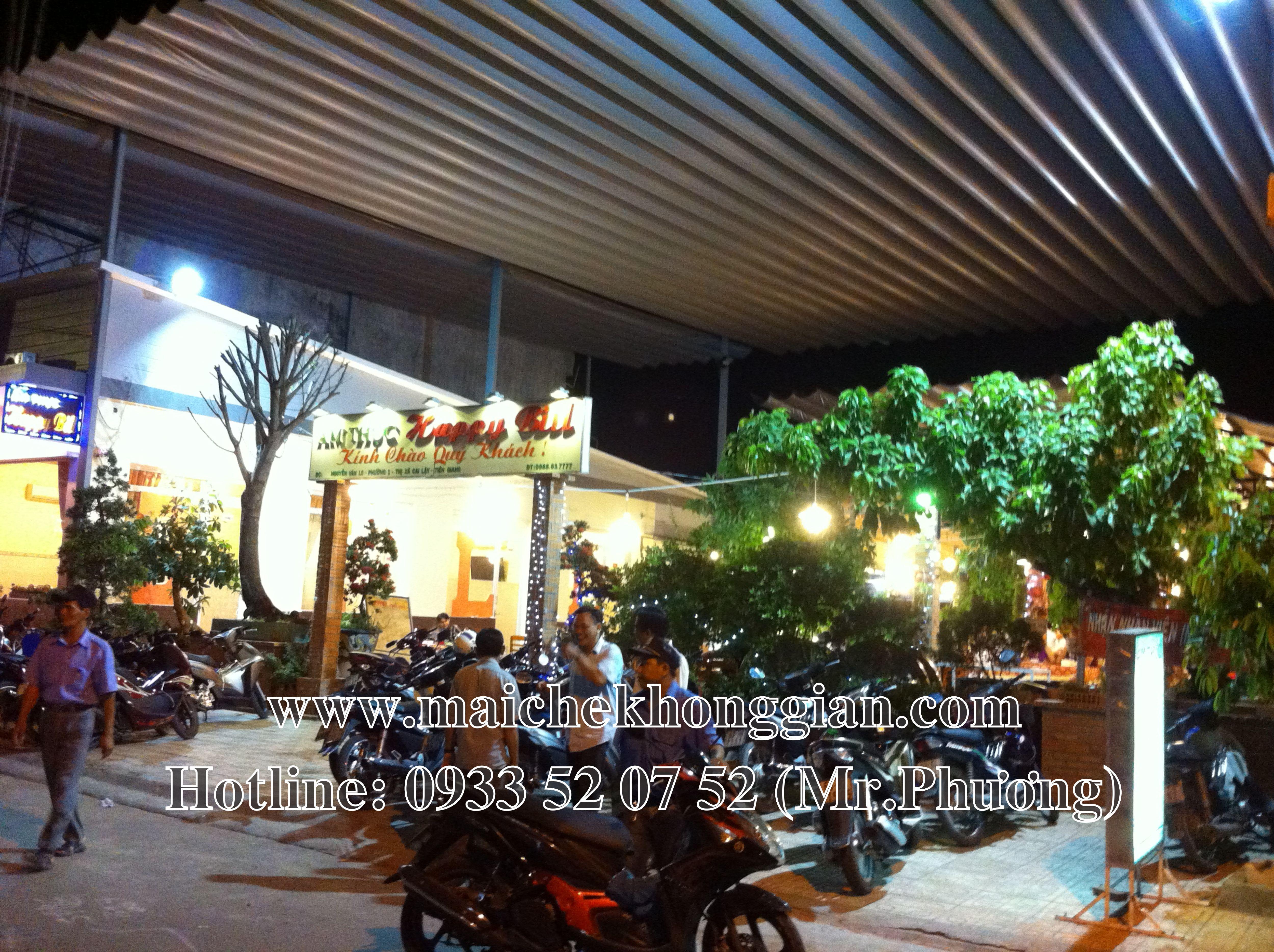 Mái bạt Quận Tân Phú TP Hồ Chí Minh
