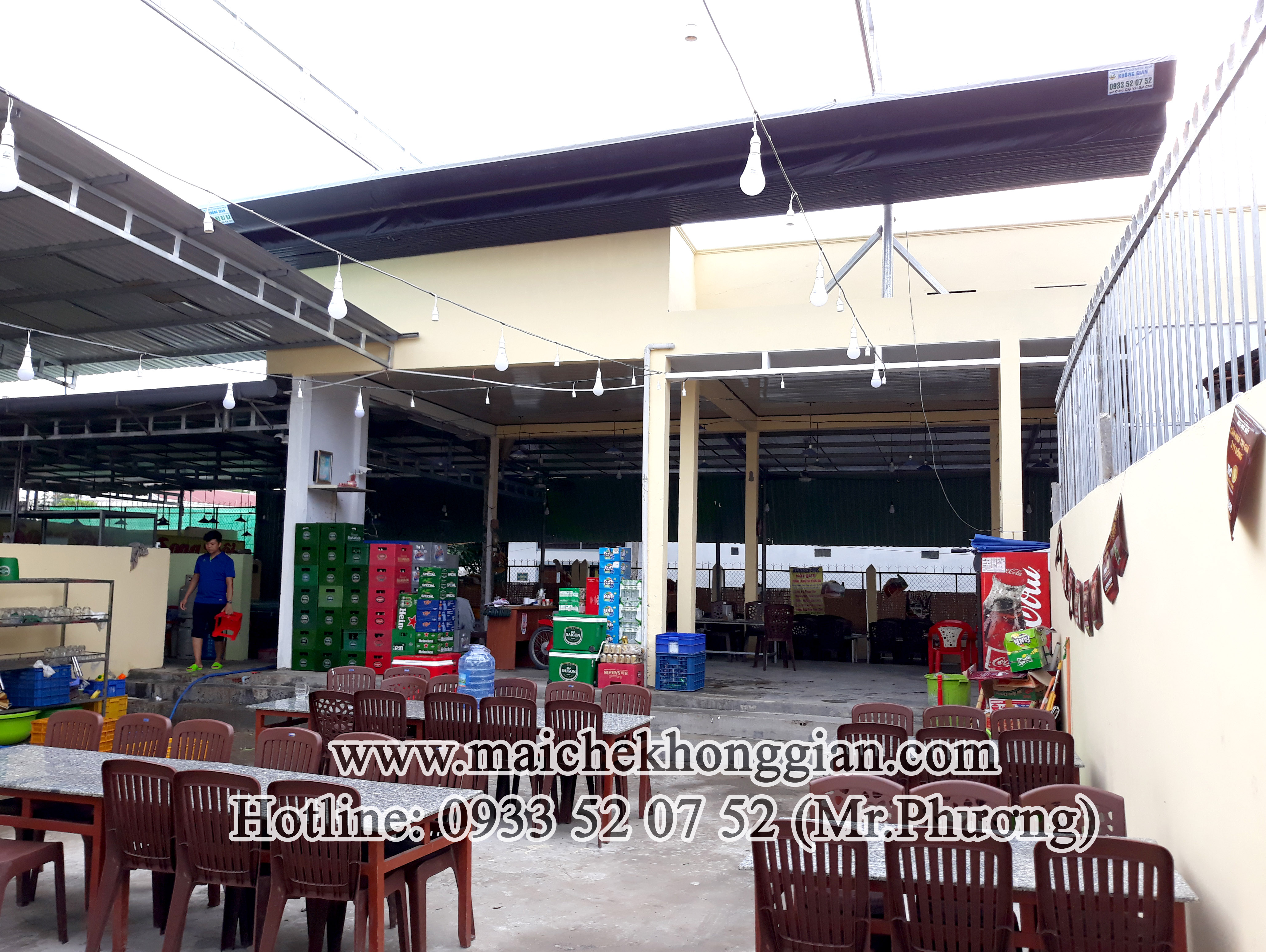 Mái Che Quán Nhậu Chợ Gạo Tiền Giang