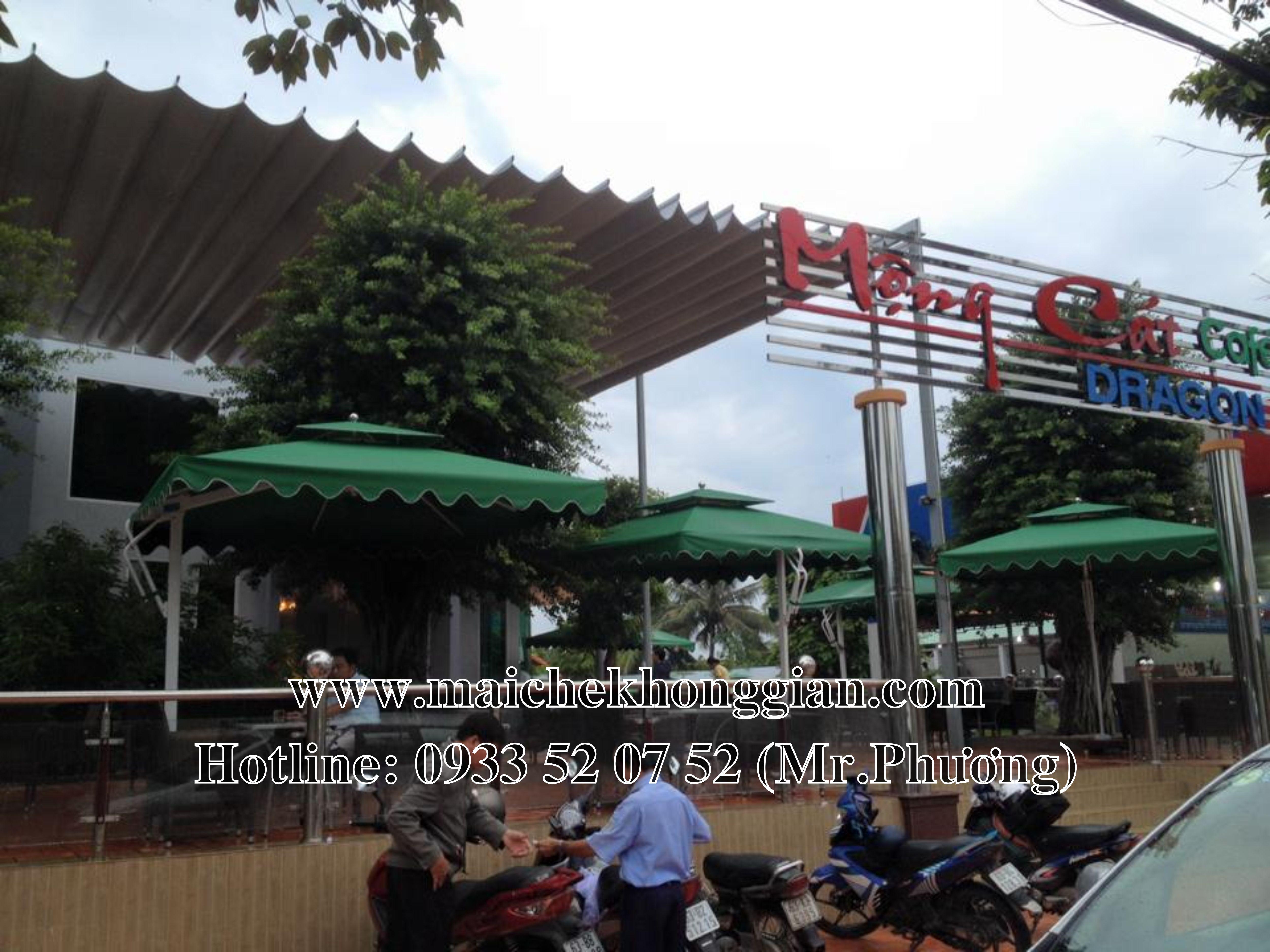 Mái che di động Châu Thành Tiền Giang