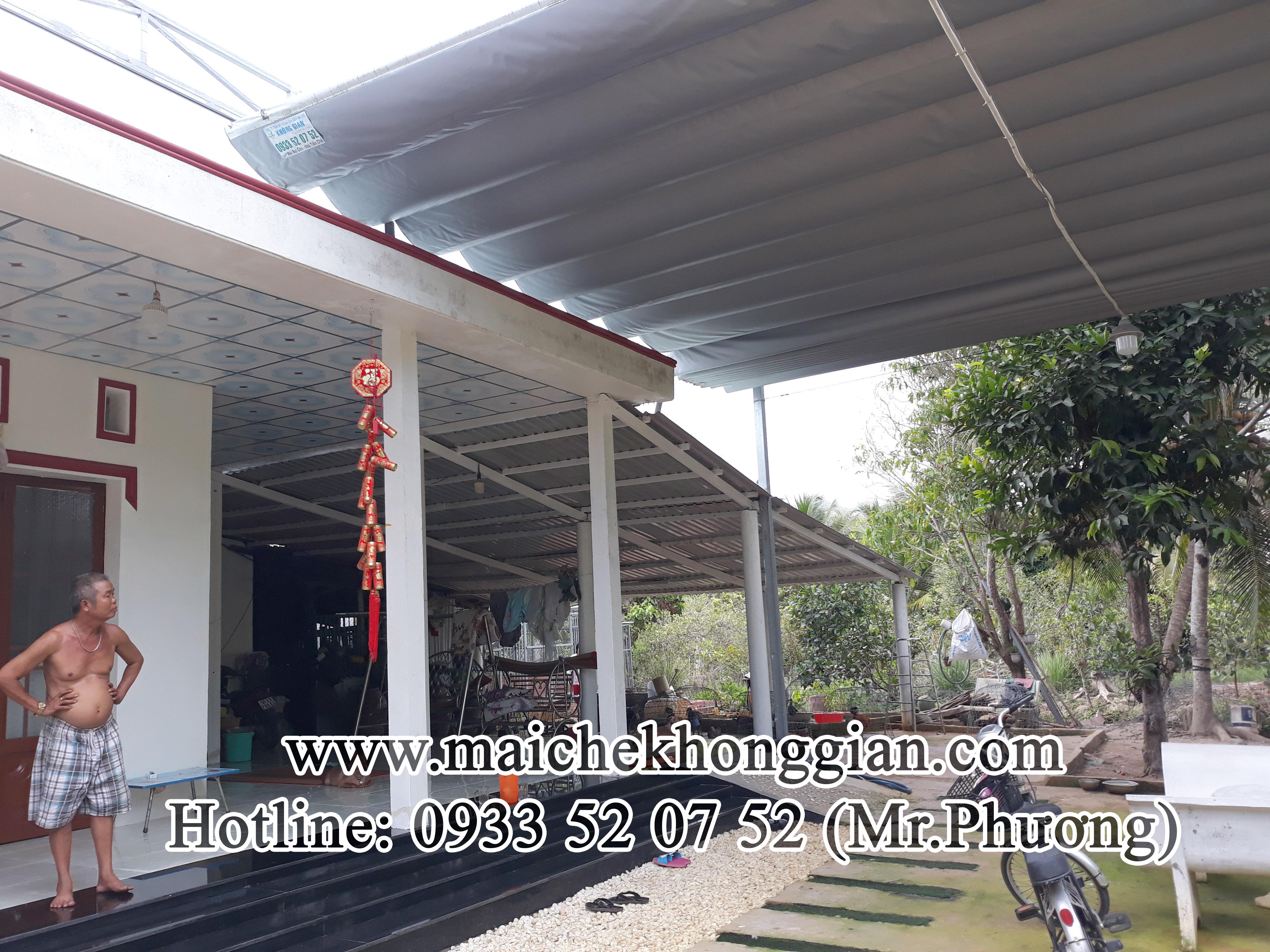 Mái xếp di động Gò Công Đông Tiền Giang