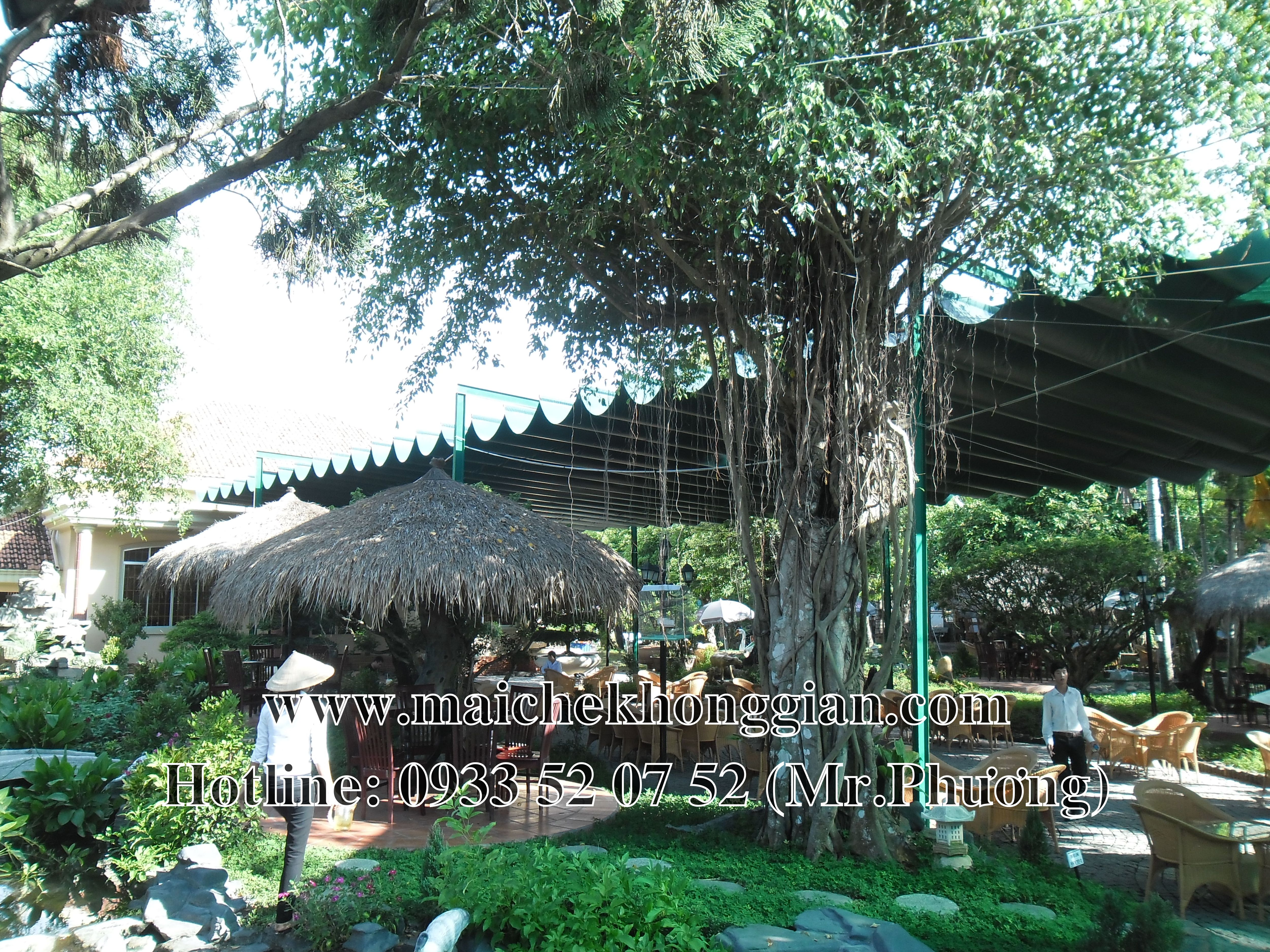 Mái bạt di động Tân Phước Tiền Giang