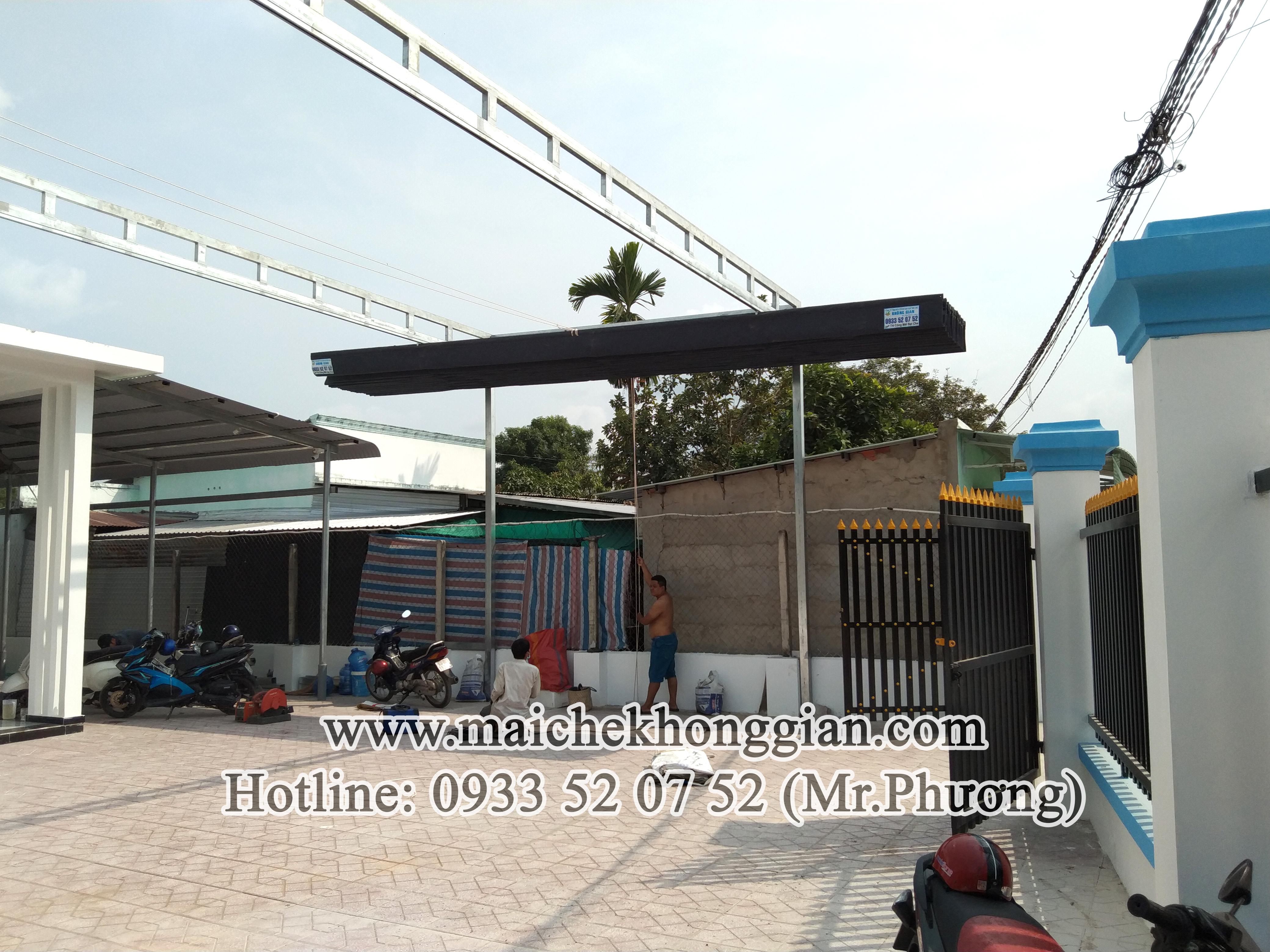 Mái che di động Thủ Thừa Long An