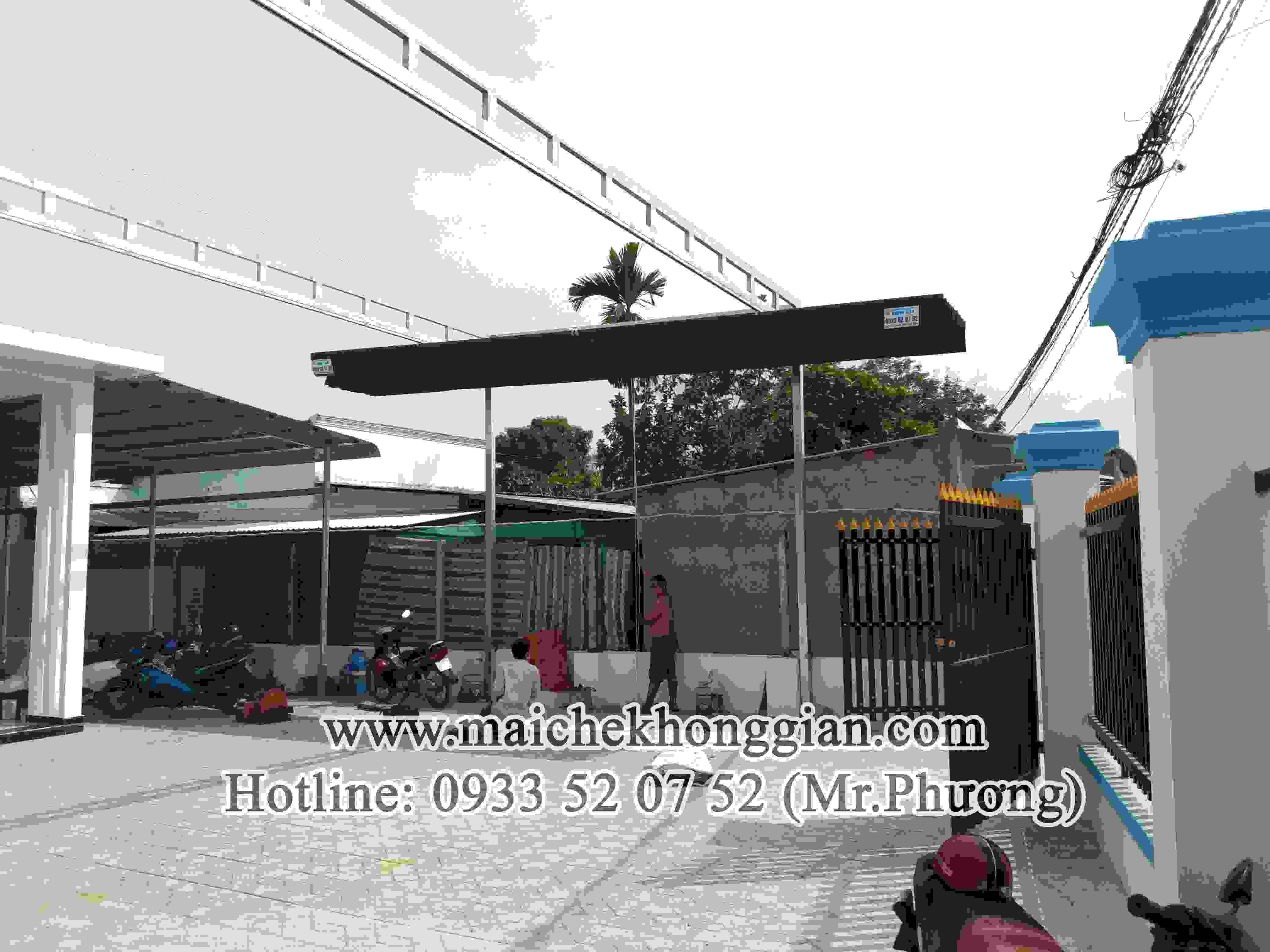 Mái Che Tự Động Huyện Châu Thành Hậu Giang