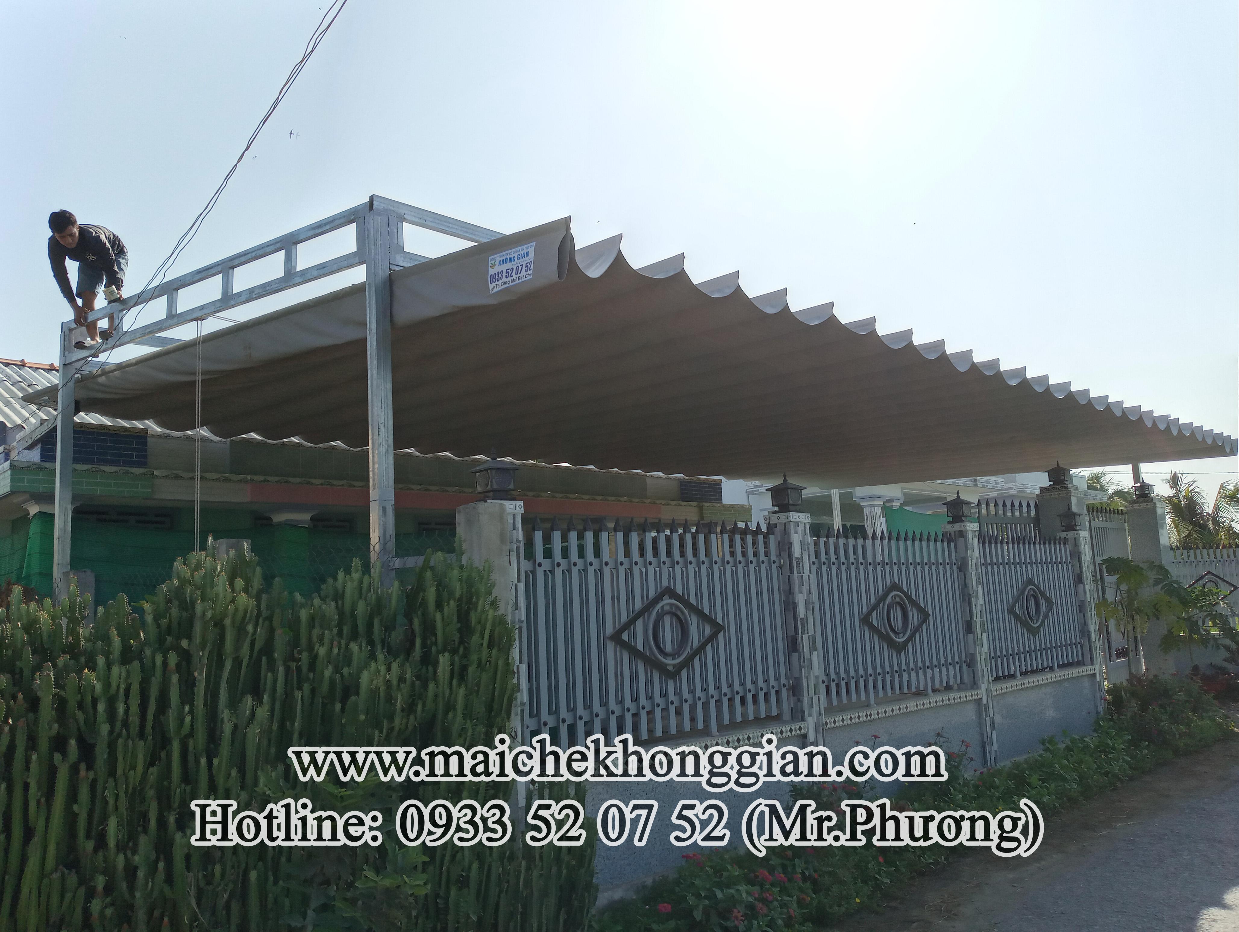 Mái Che Hiên Nhà Huyện Bình Tân Vĩnh Long