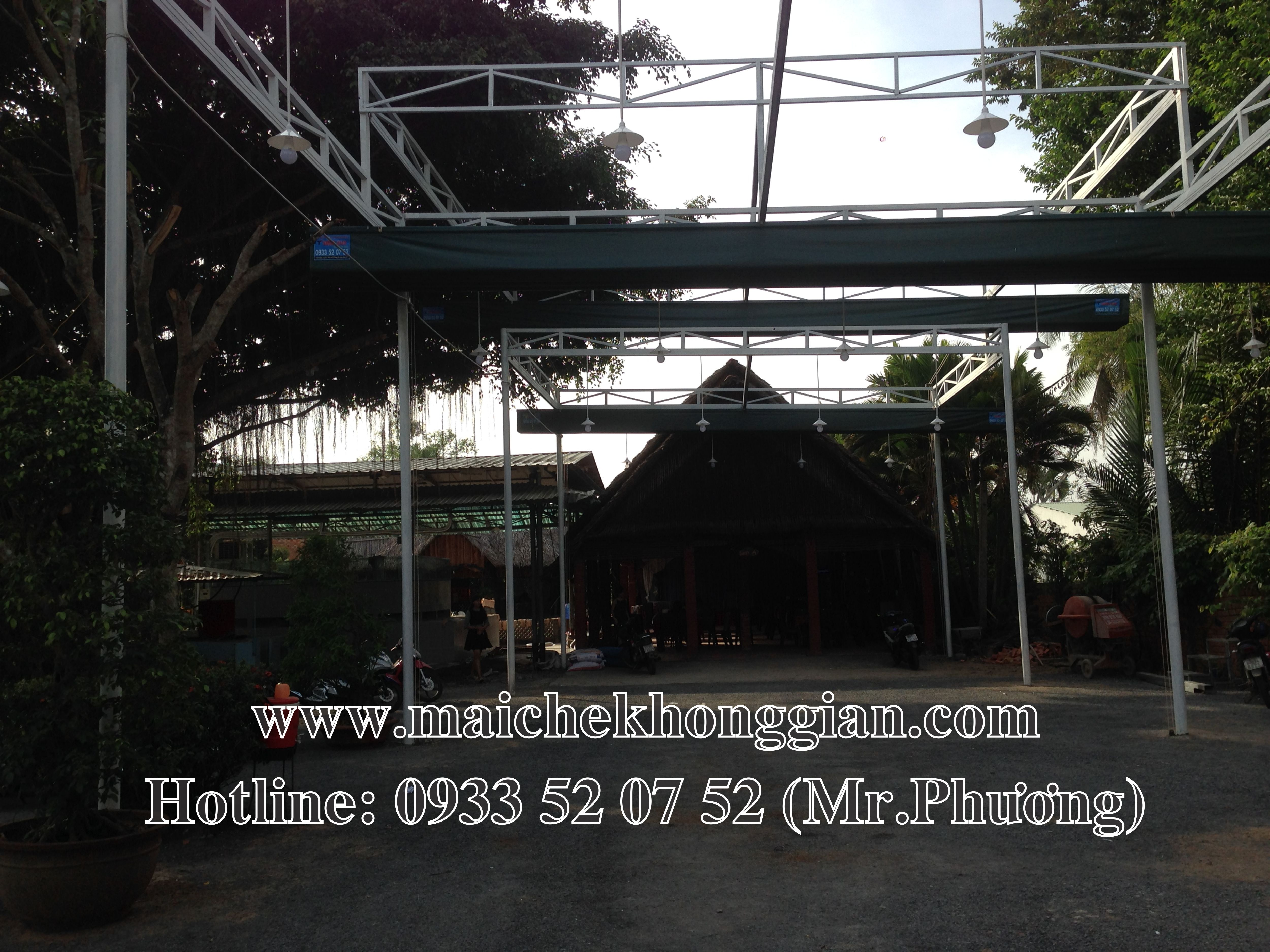 Mái Che Nhà Xe Gò Công Tây Tiền Giang