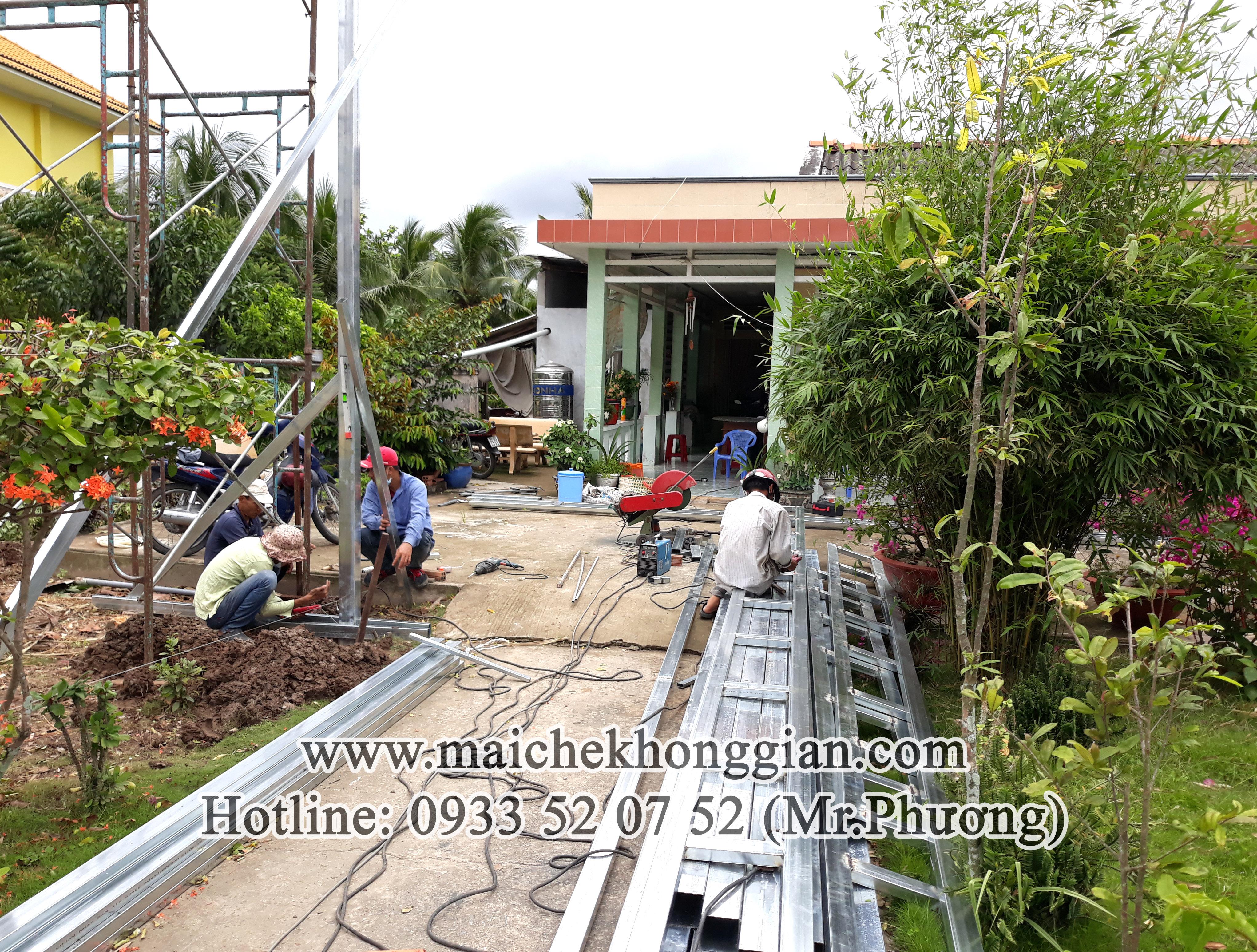 Mái Che Sân Phơi Huyện Phong Điền Cần Thơ