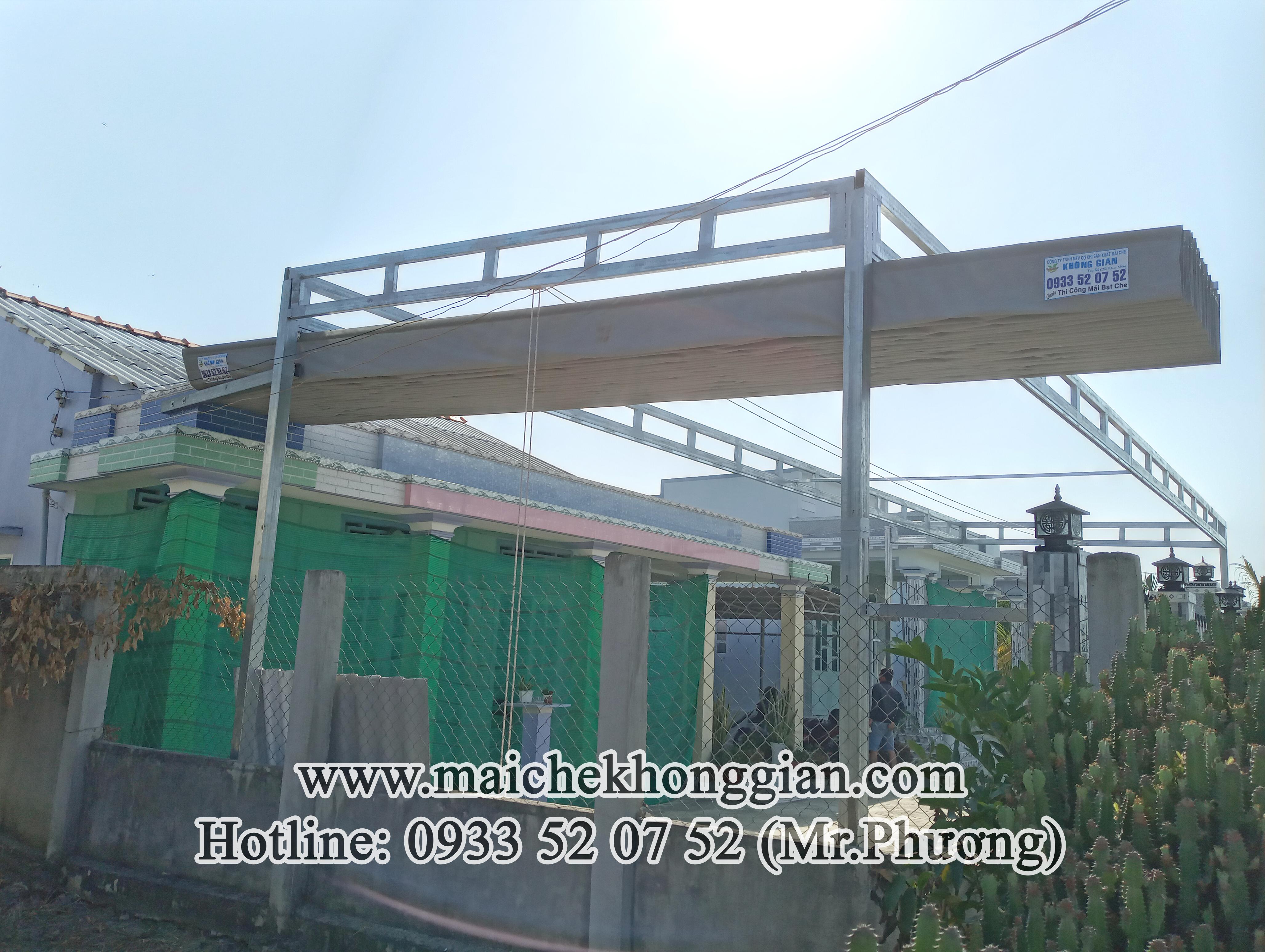Mái Che Hiên Nhà Huyện Long Phú Sóc Trăng