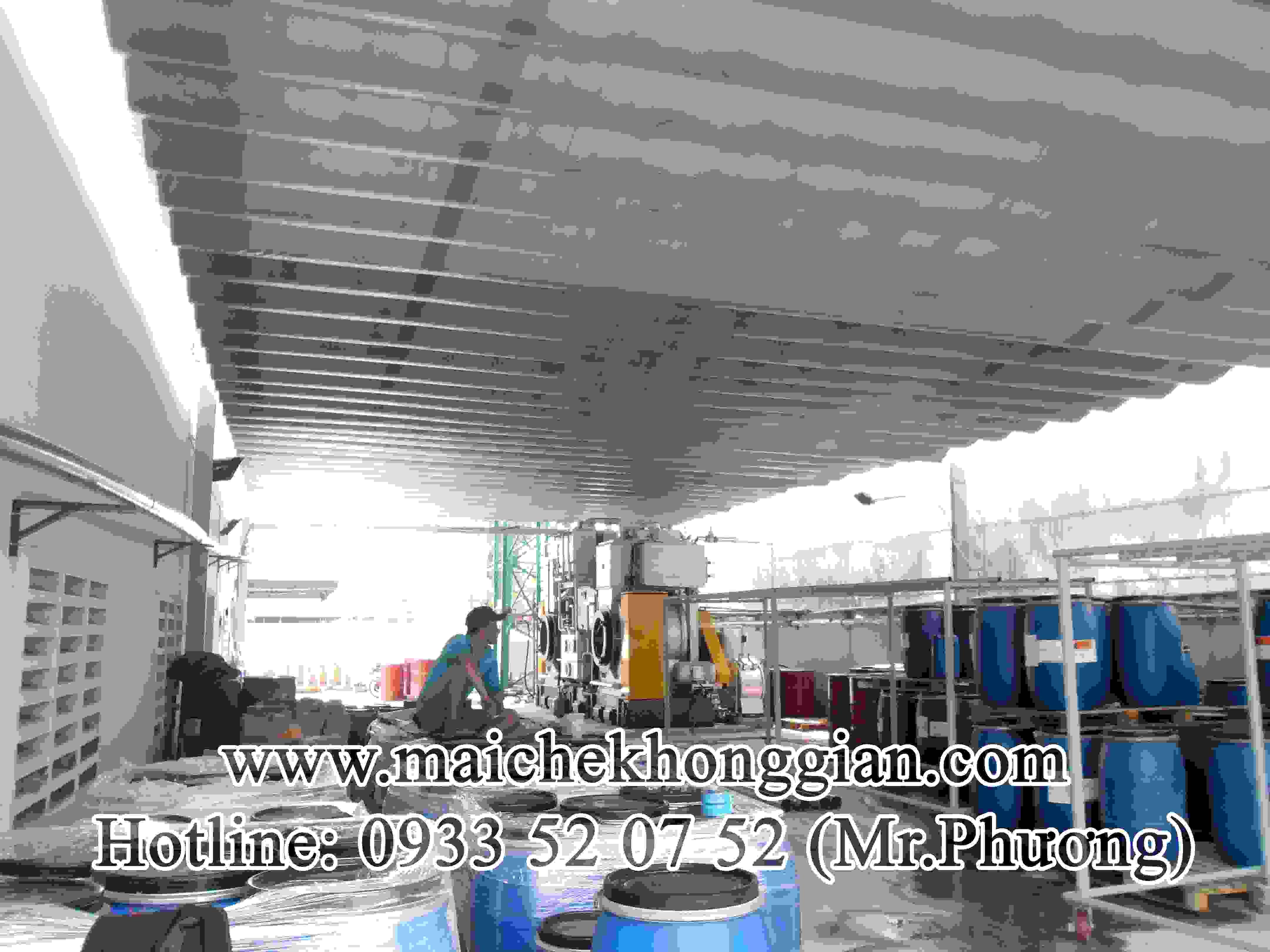 Mái Che Kho Hàng Huyện Châu Thành Hậu Giang