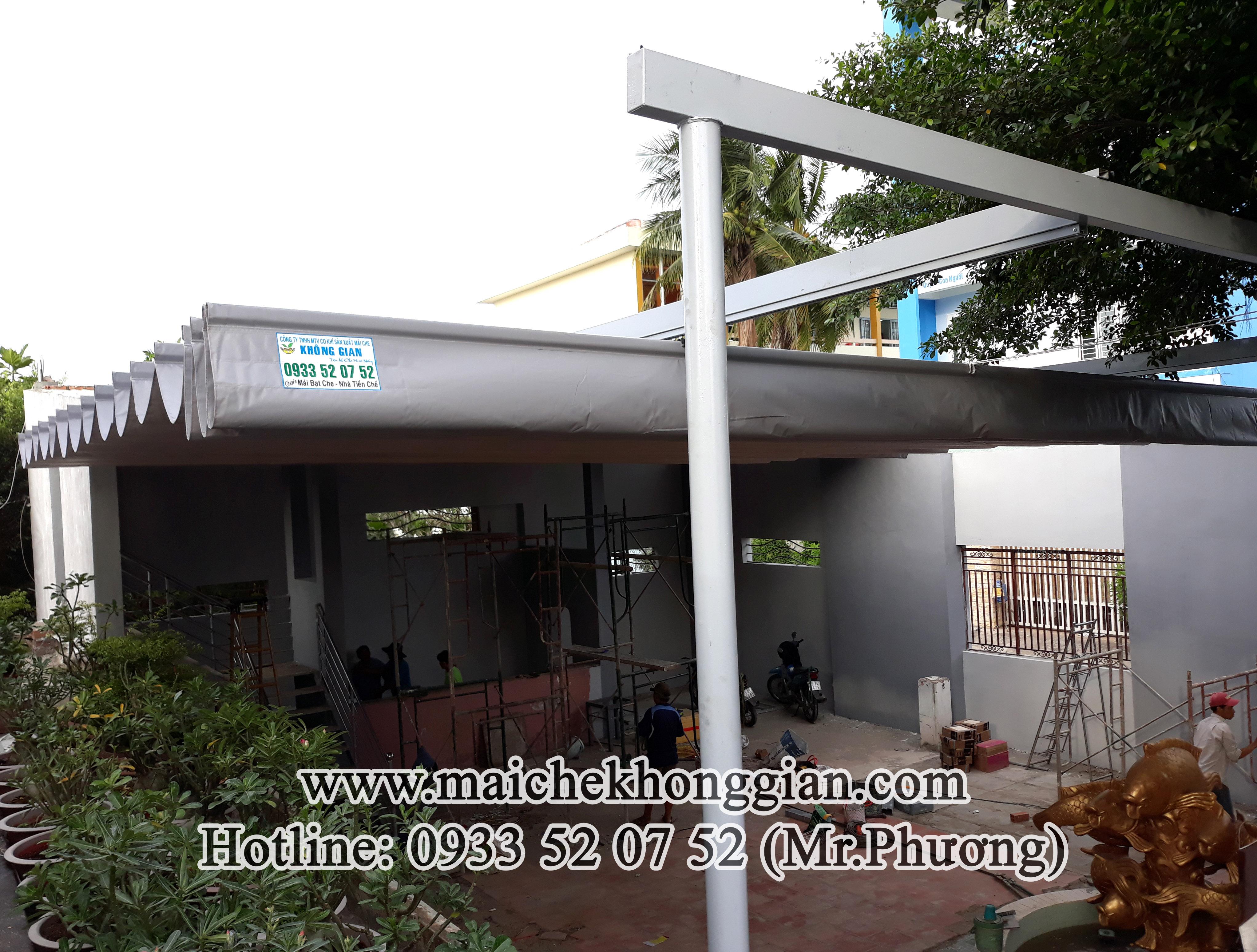 Mái che di động Tân Phước Tiền Giang