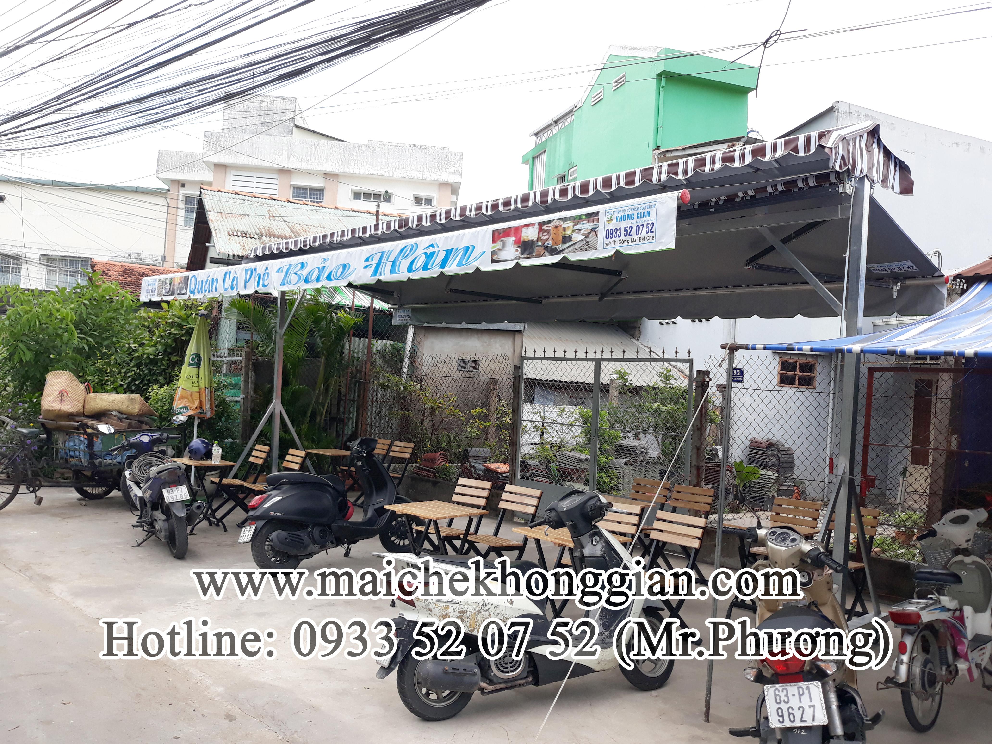 Mái Che Lưu Động Quận Ninh Kiều Cần Thơ