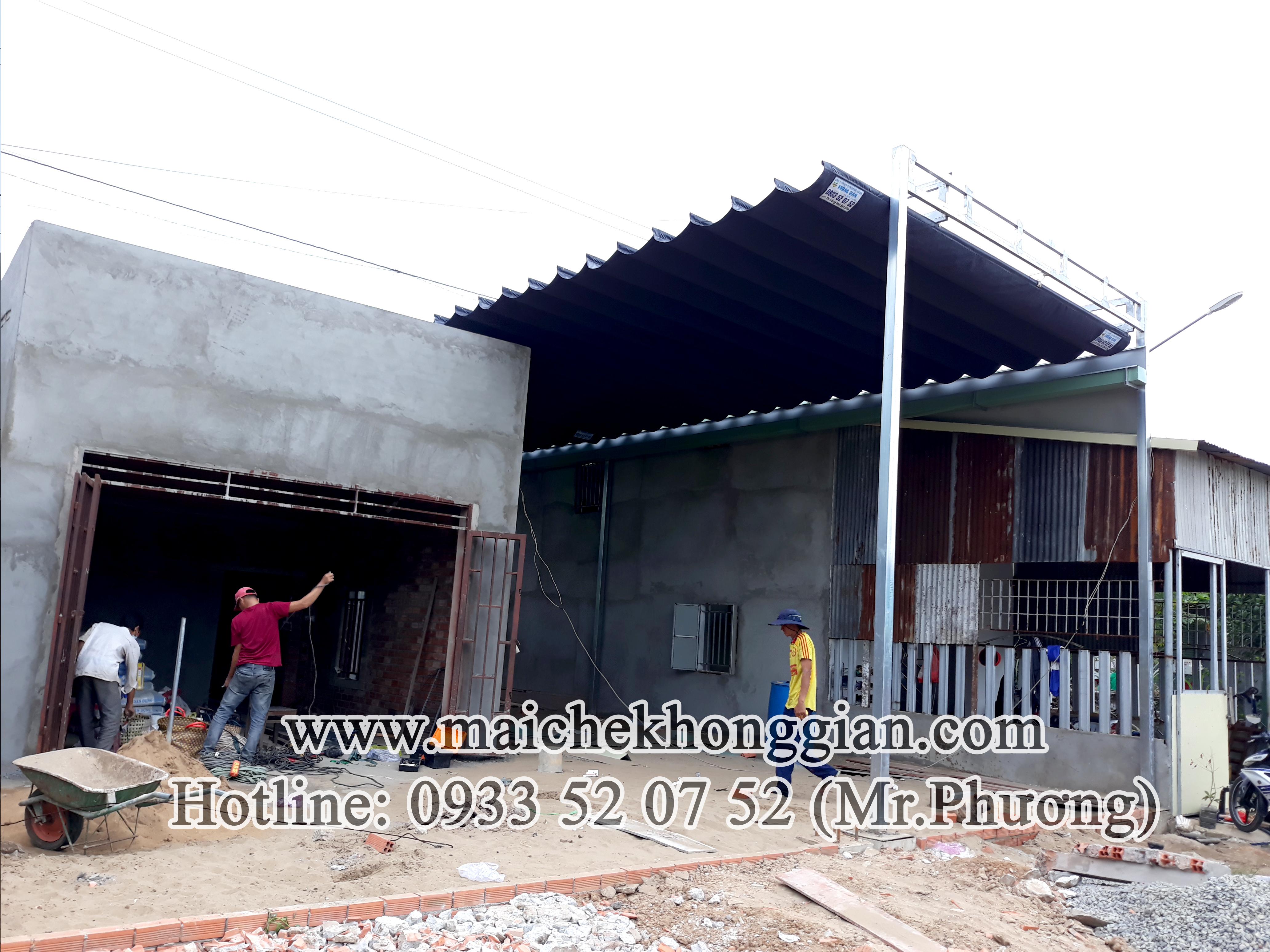 Mái che di động Tân Châu Tây Ninh