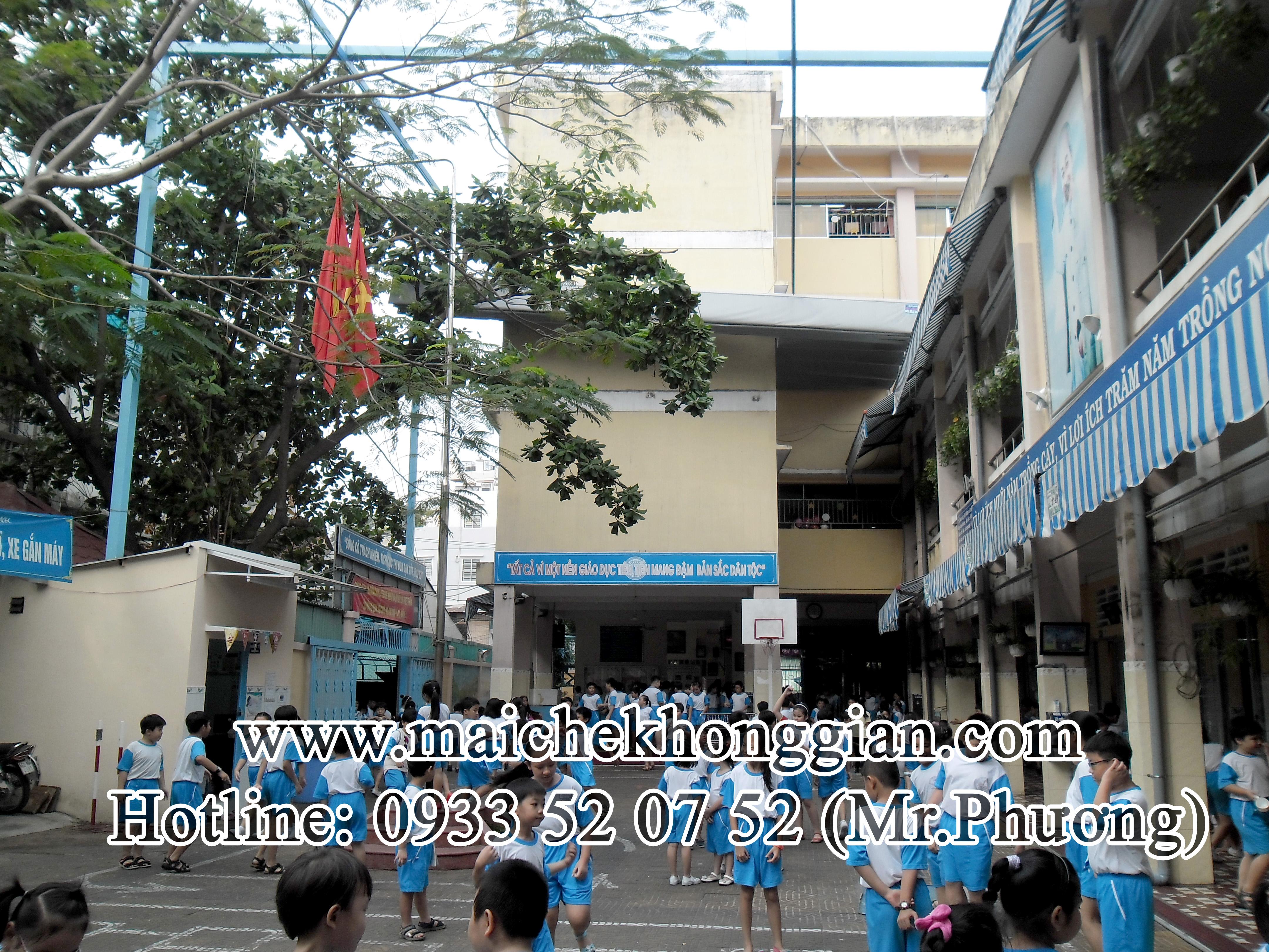 Mái che trường học Tân Trụ Long An