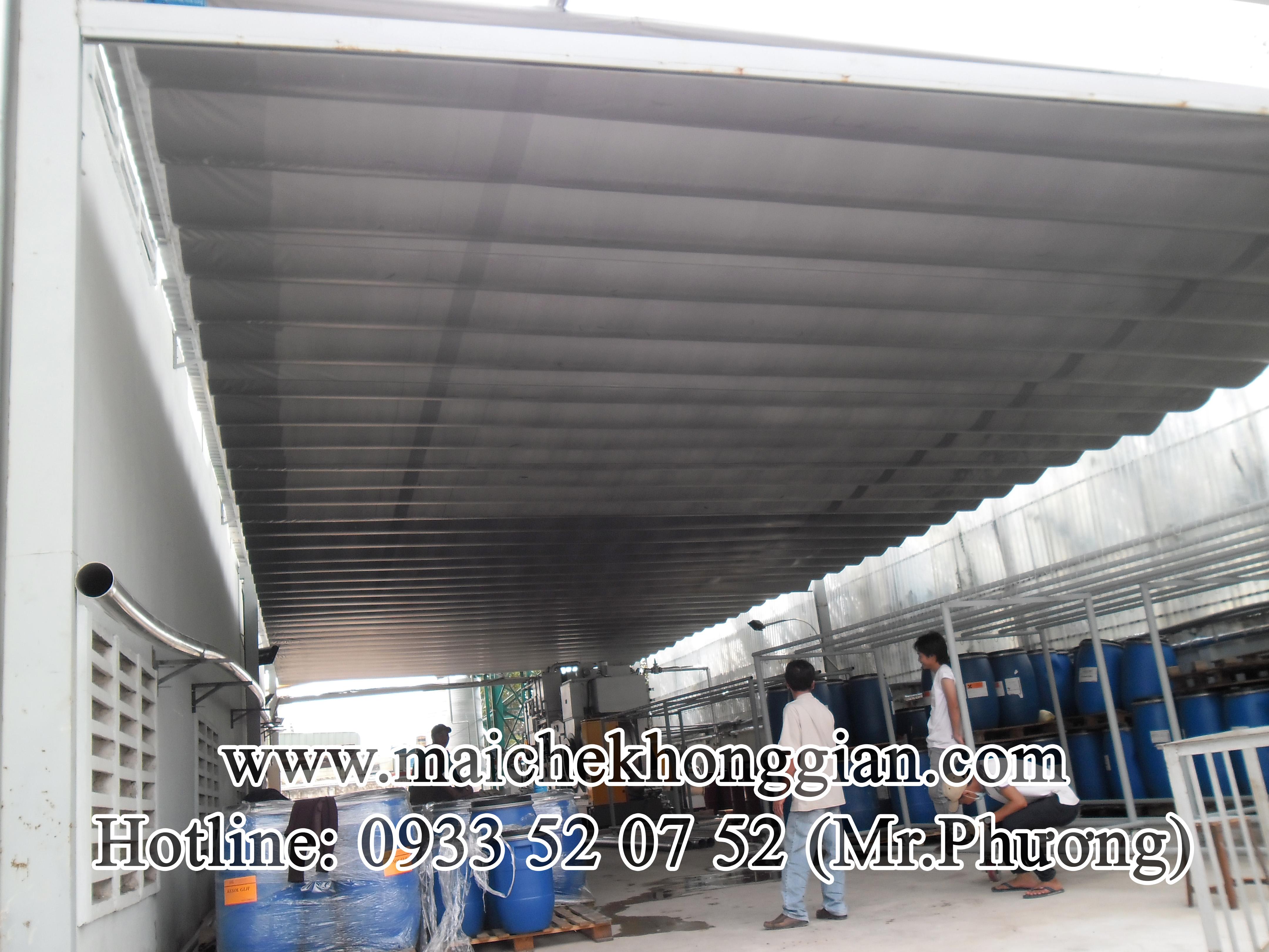 Mái Che Kho Hàng Chợ Gạo Tiền Giang