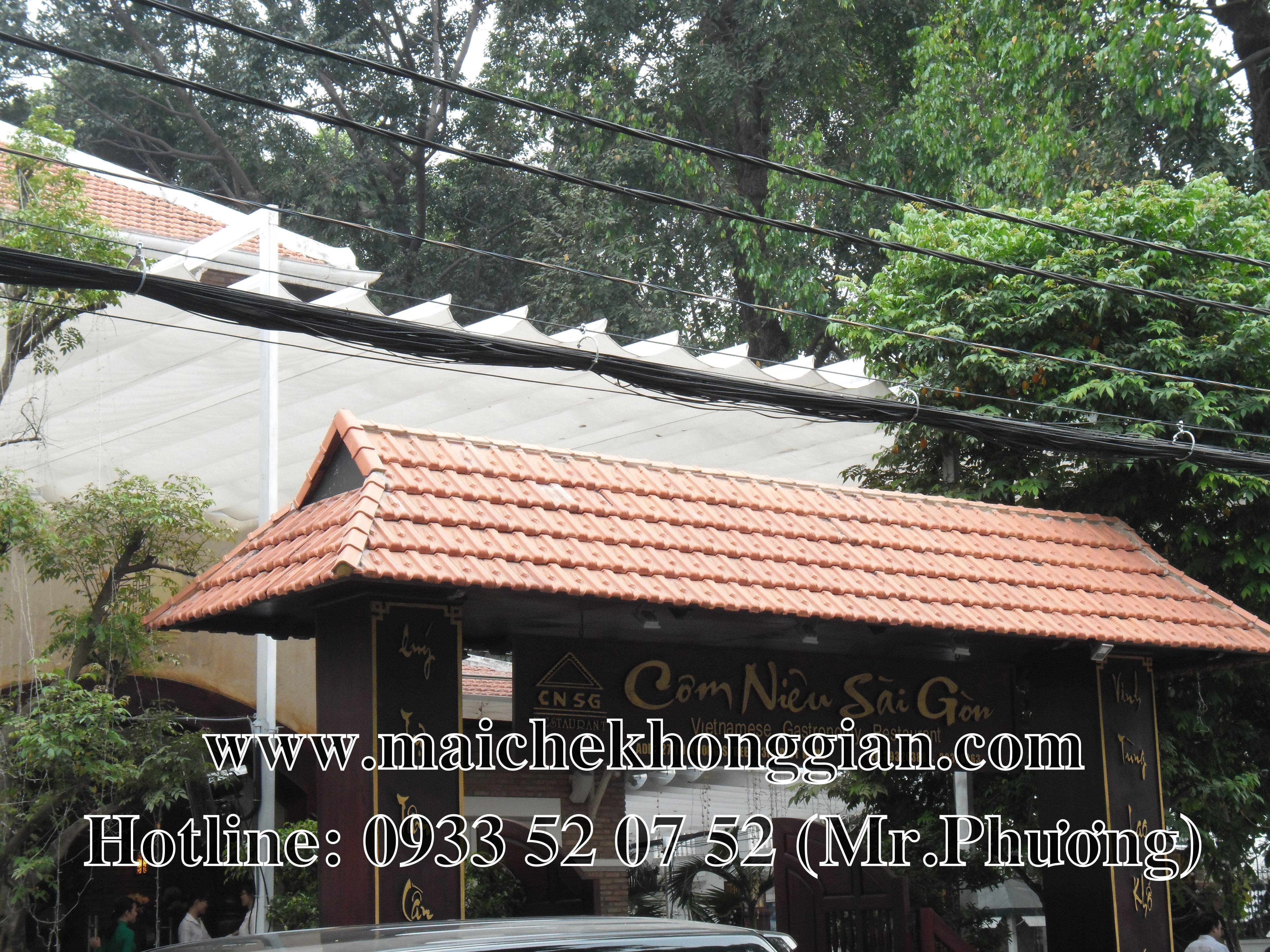 Mái Che Nhà Hàng Gò Công Tây Tiền Giang