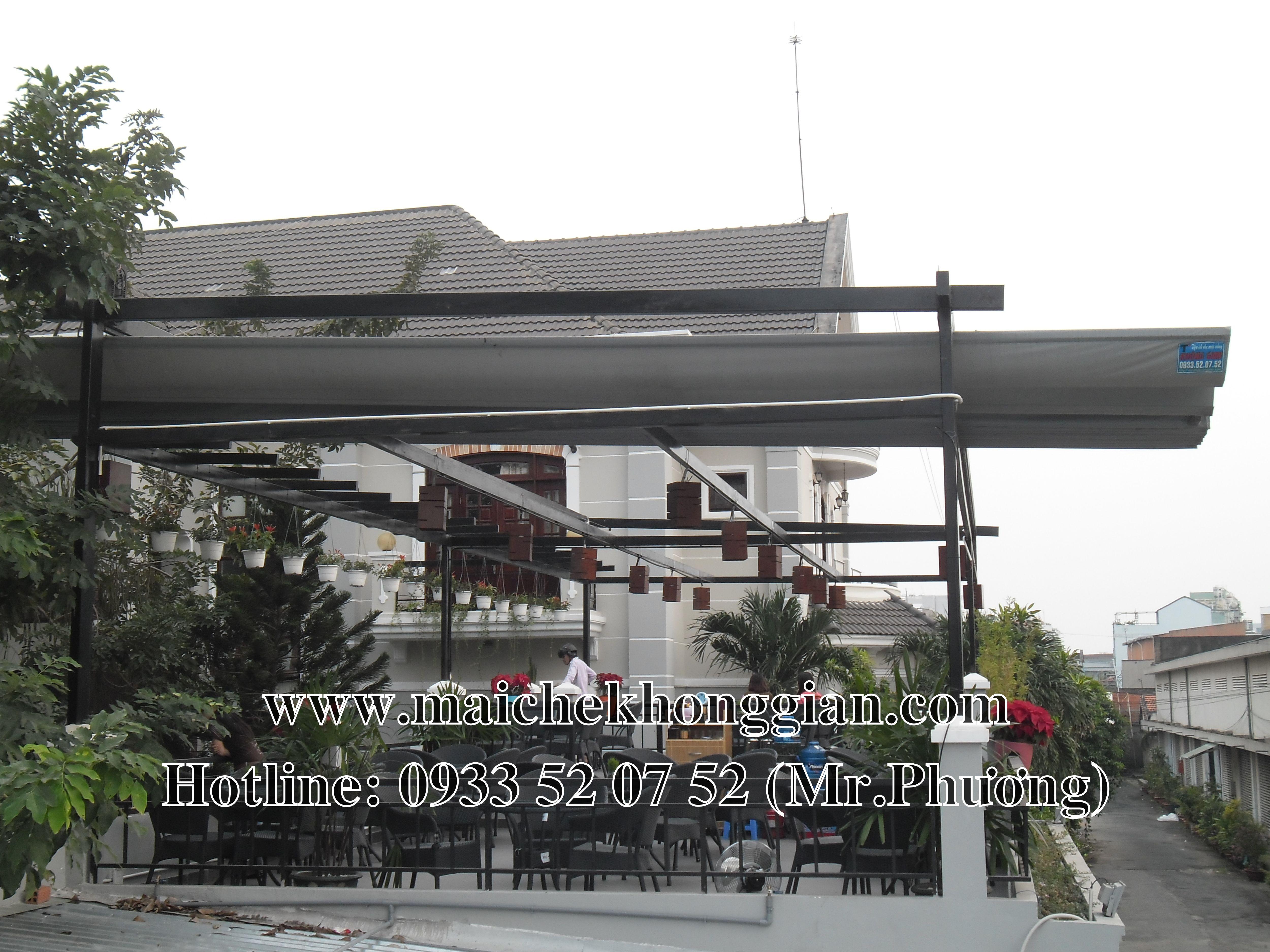 Mái che di động Thị Xã Bình Minh Vĩnh Long