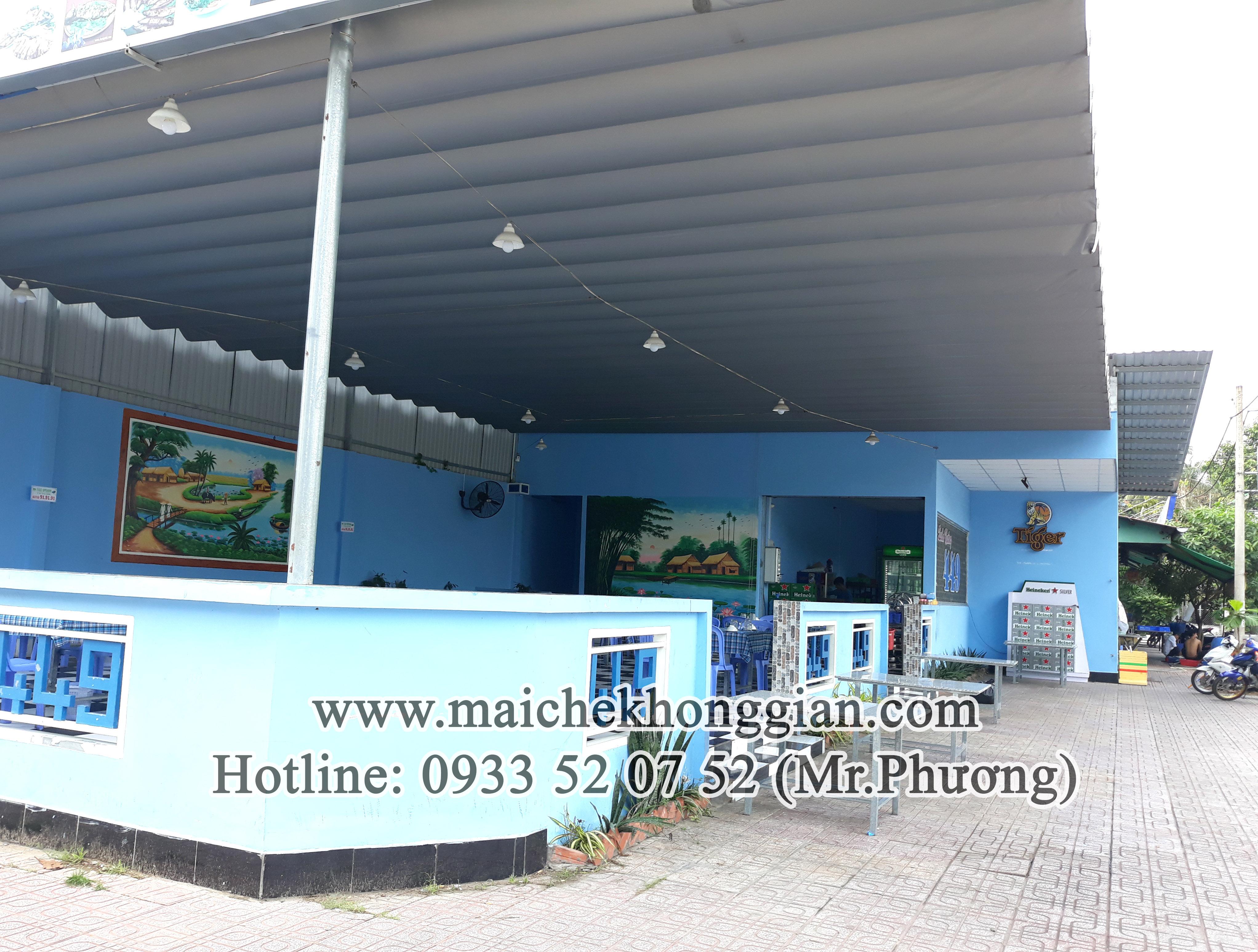 Mái che di động Huyện Mang Thít Vĩnh Long