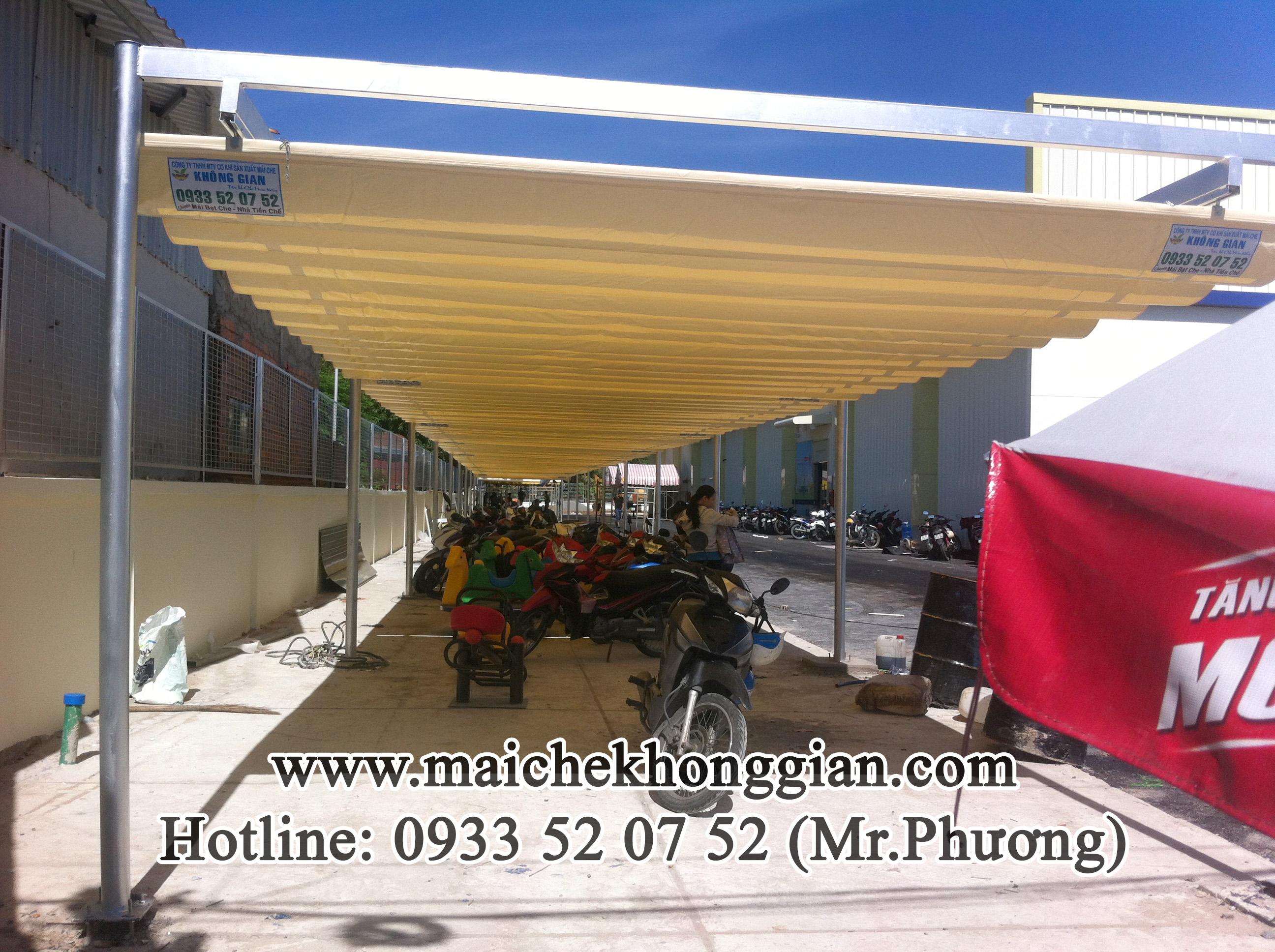 Mái che di động Huyện Tam Bình Vĩnh Long