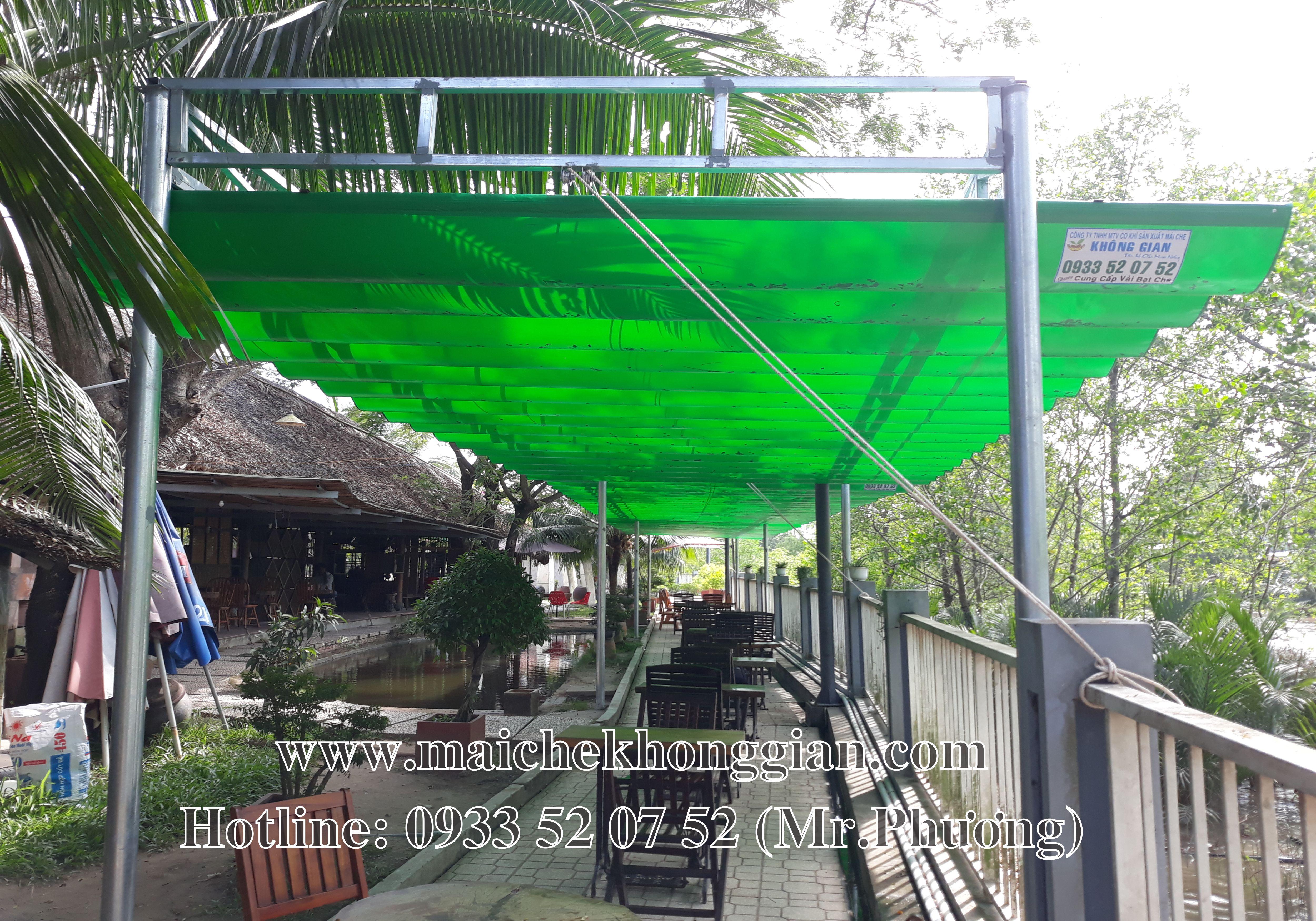 Mái che di động Thành phố Vị Thanh Hậu Giang