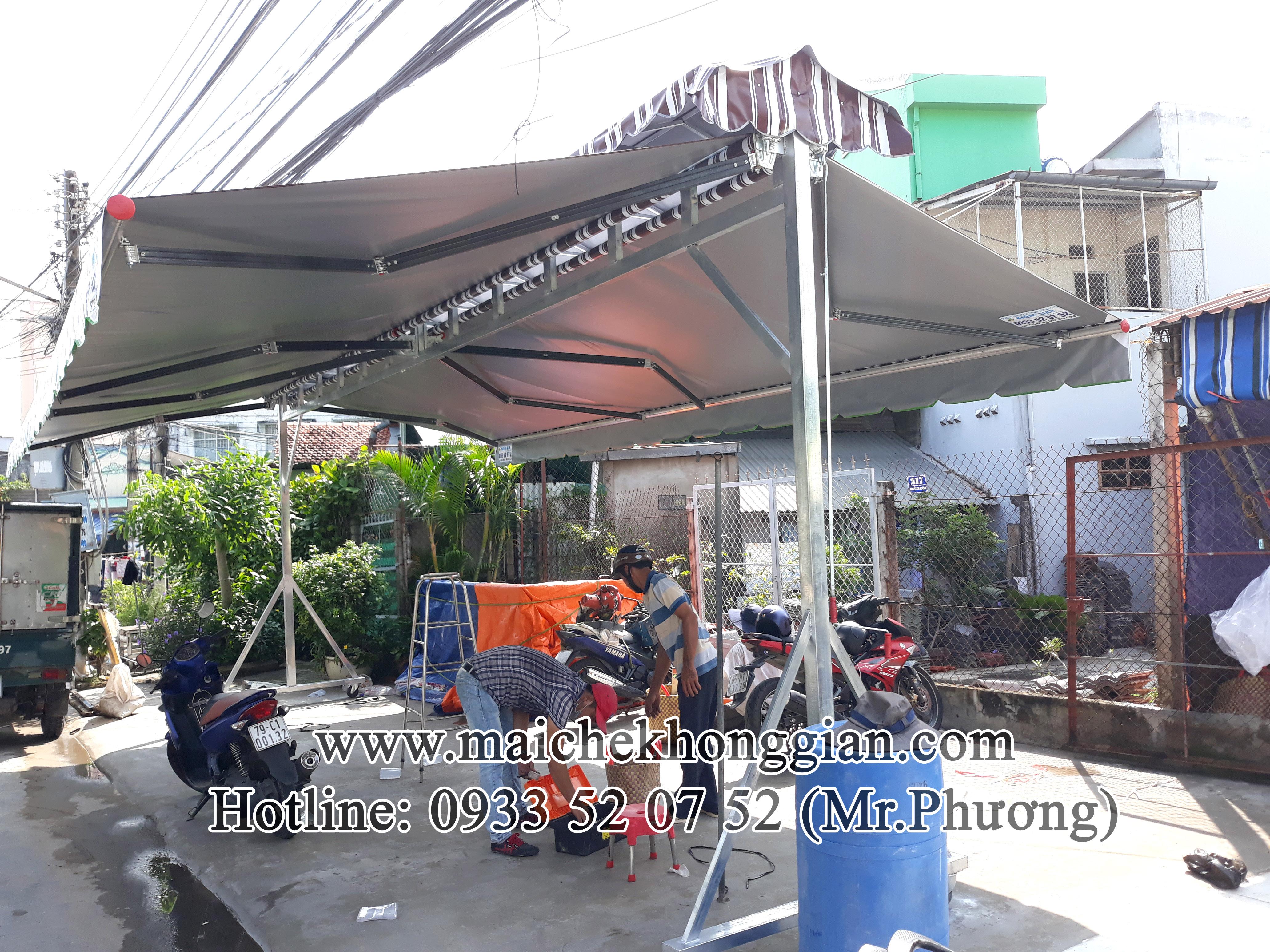 Mái Che Lưu Động Huyện Trà Ôn Vĩnh Long