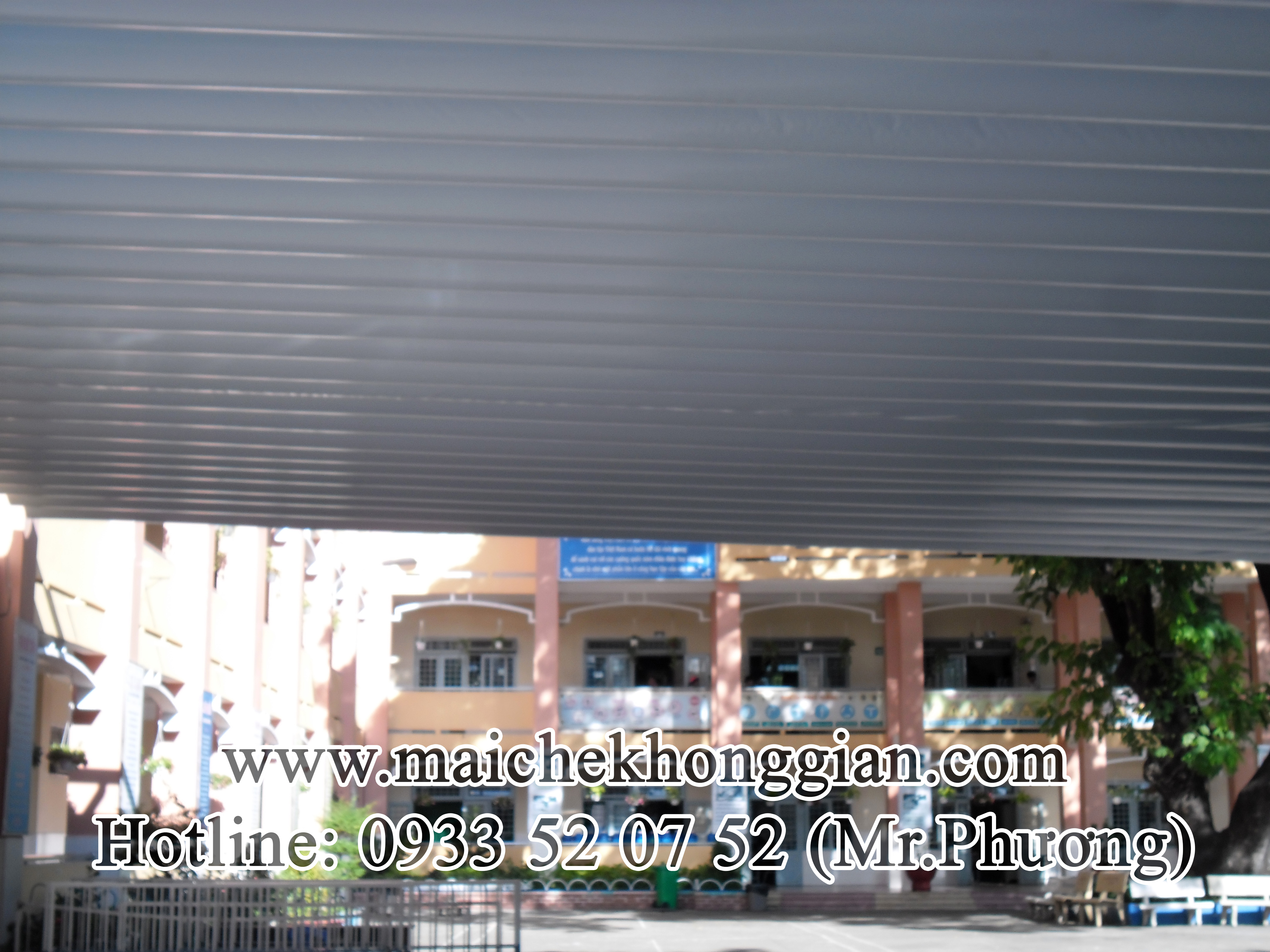 Mái Che Sân Trường Huyện Vũng Liêm Vĩnh Long