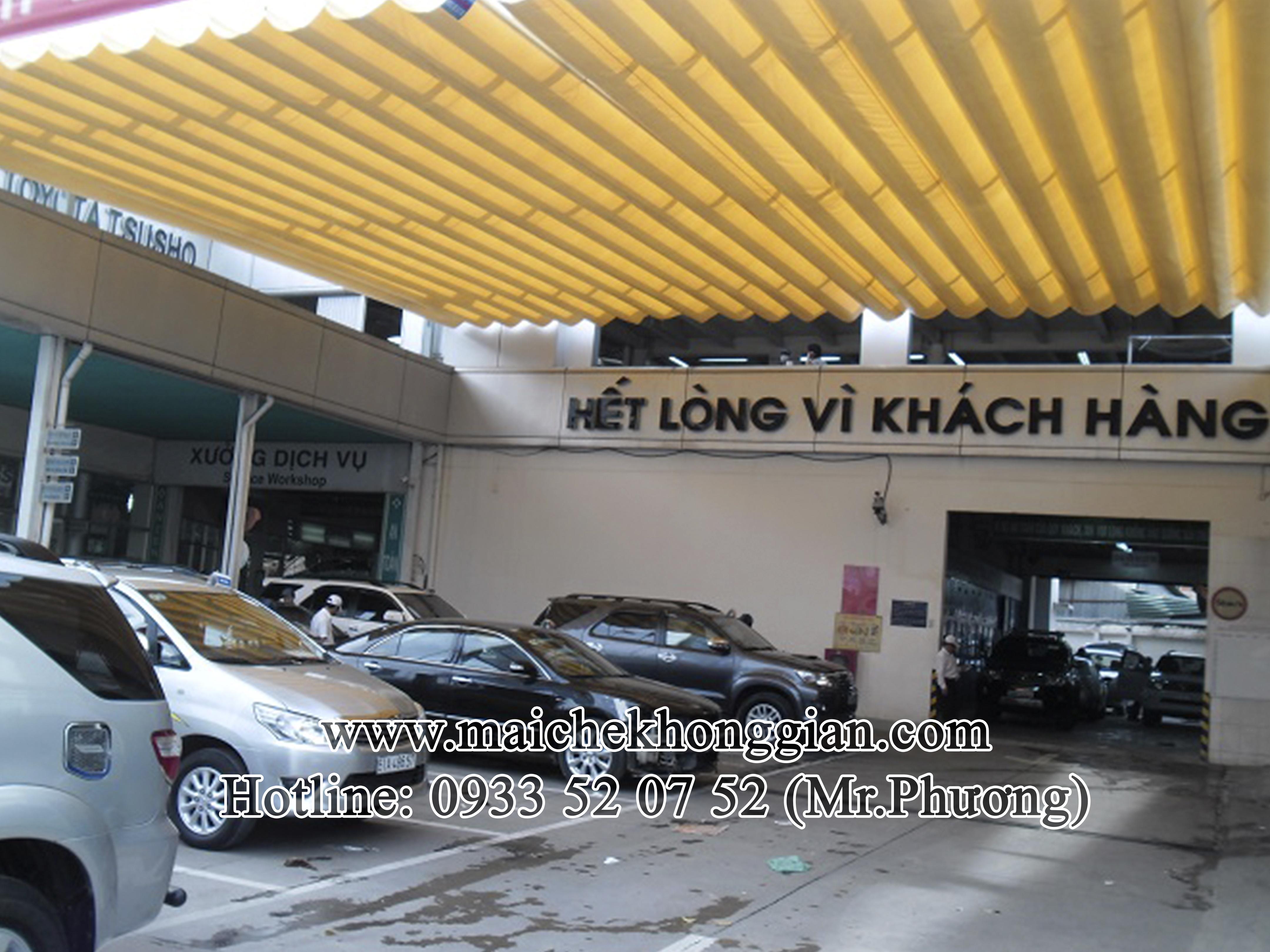 Mái Che Xe Quận Huyện Châu Thành Sóc Trăng