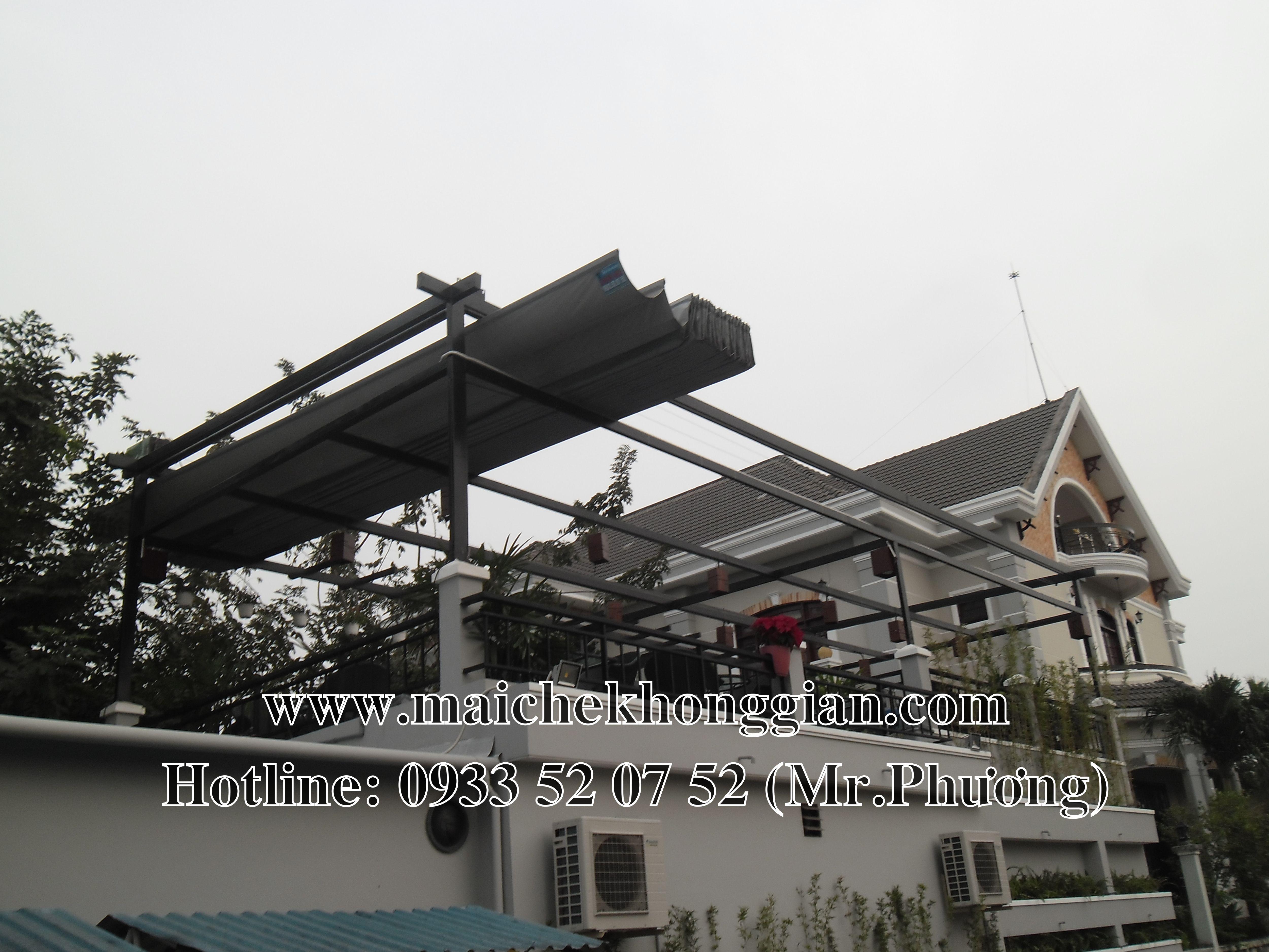 Mái che di động Huyện Phú Tân Cà Mau
