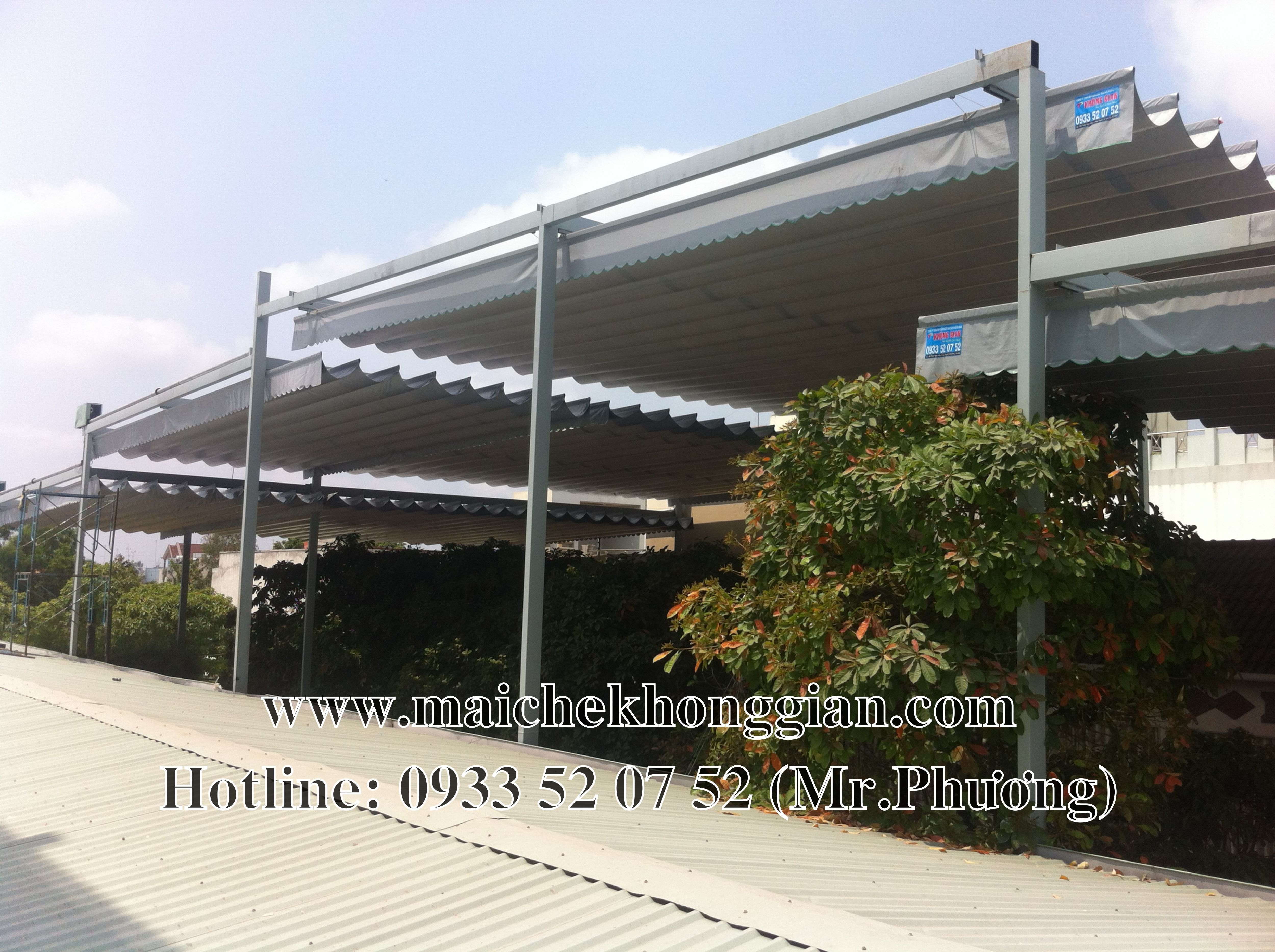 Mái bạt di động Quận 4 TP Hồ Chí Minh
