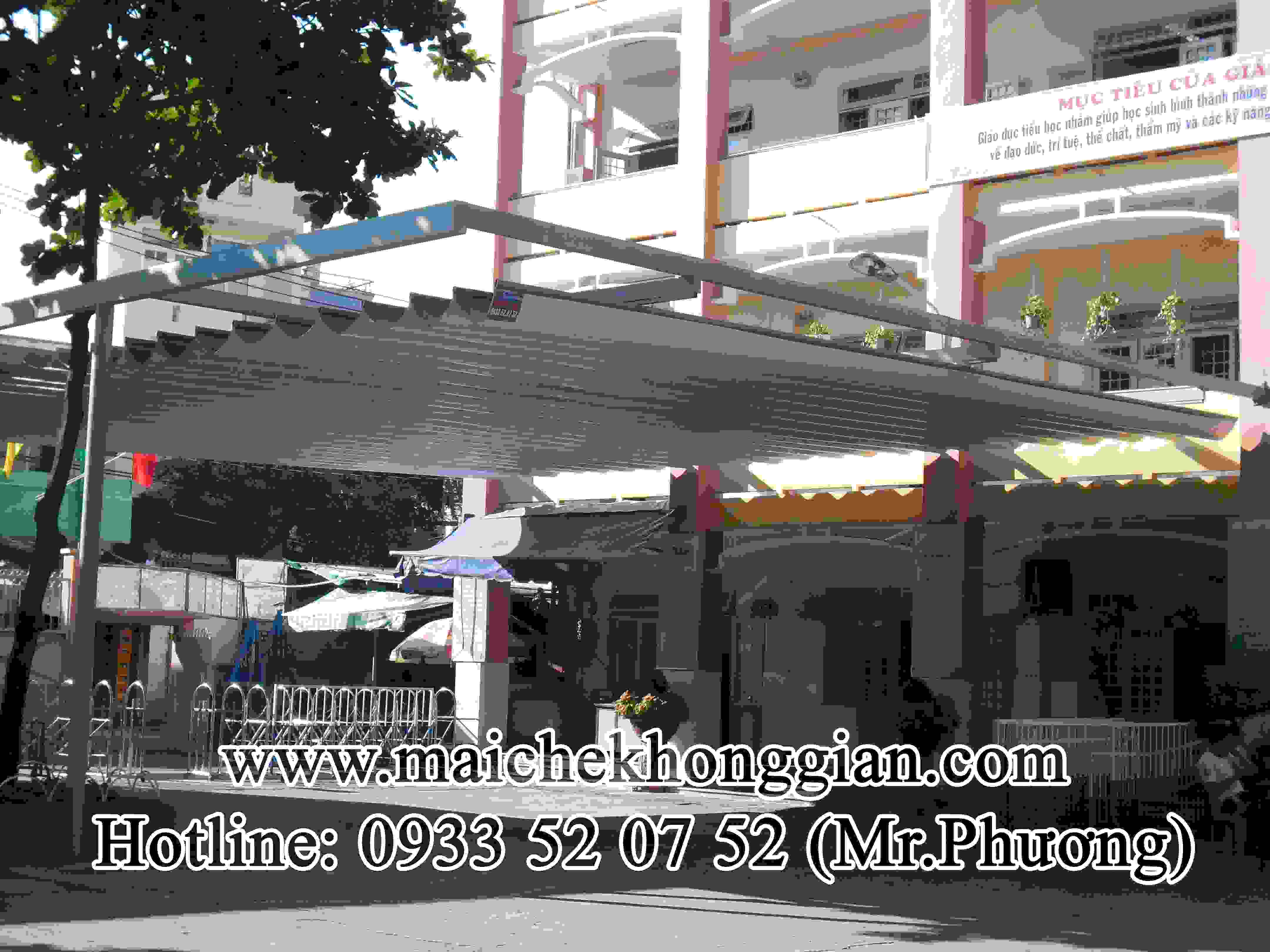 Mái Che Sân Trường Huyện Phụng Hiệp Hậu Giang