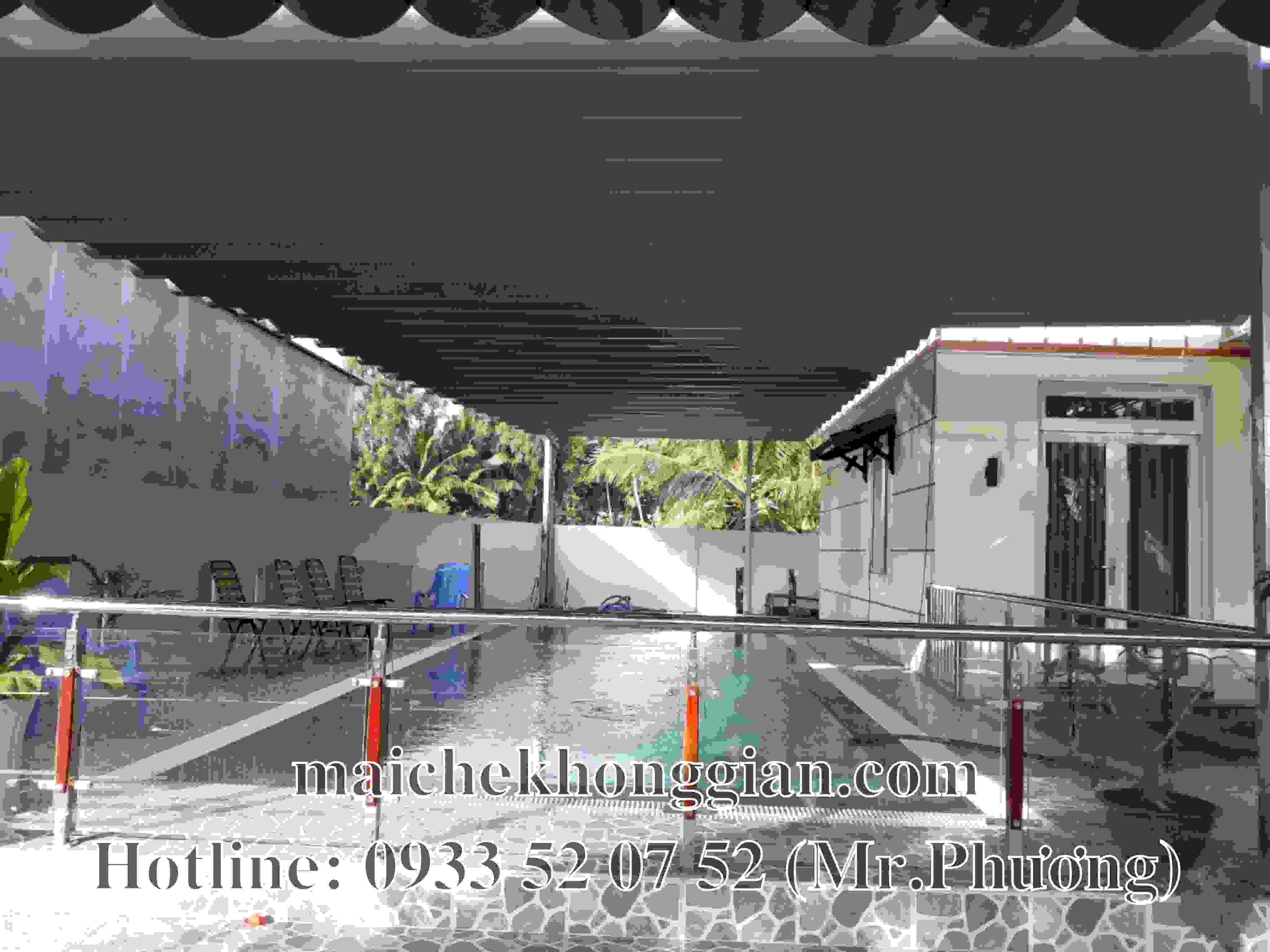 Mái Che Hồ Bơi Huyện Long Mỹ Hậu Giang
