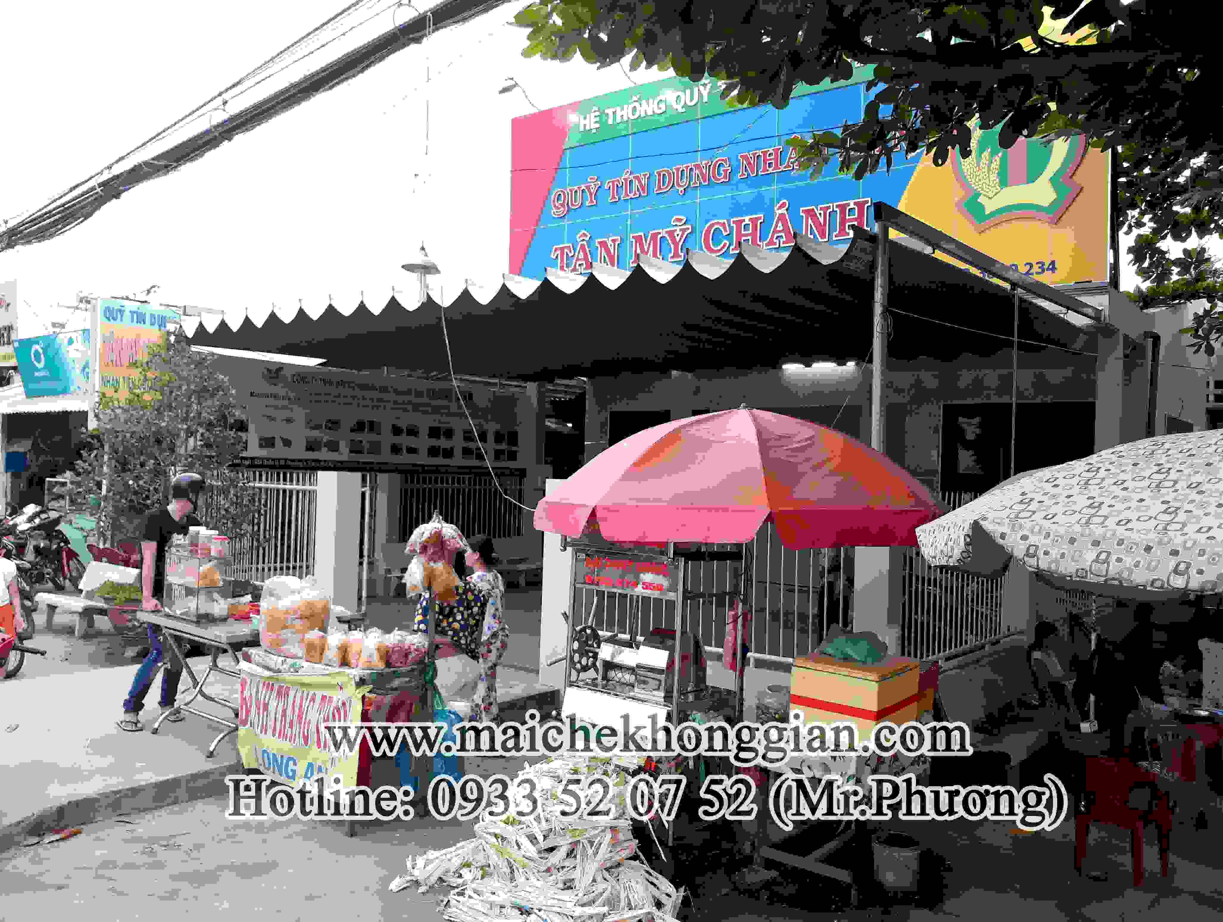 Mái Che Ngân Hàng Huyện Châu Thành Hậu Giang