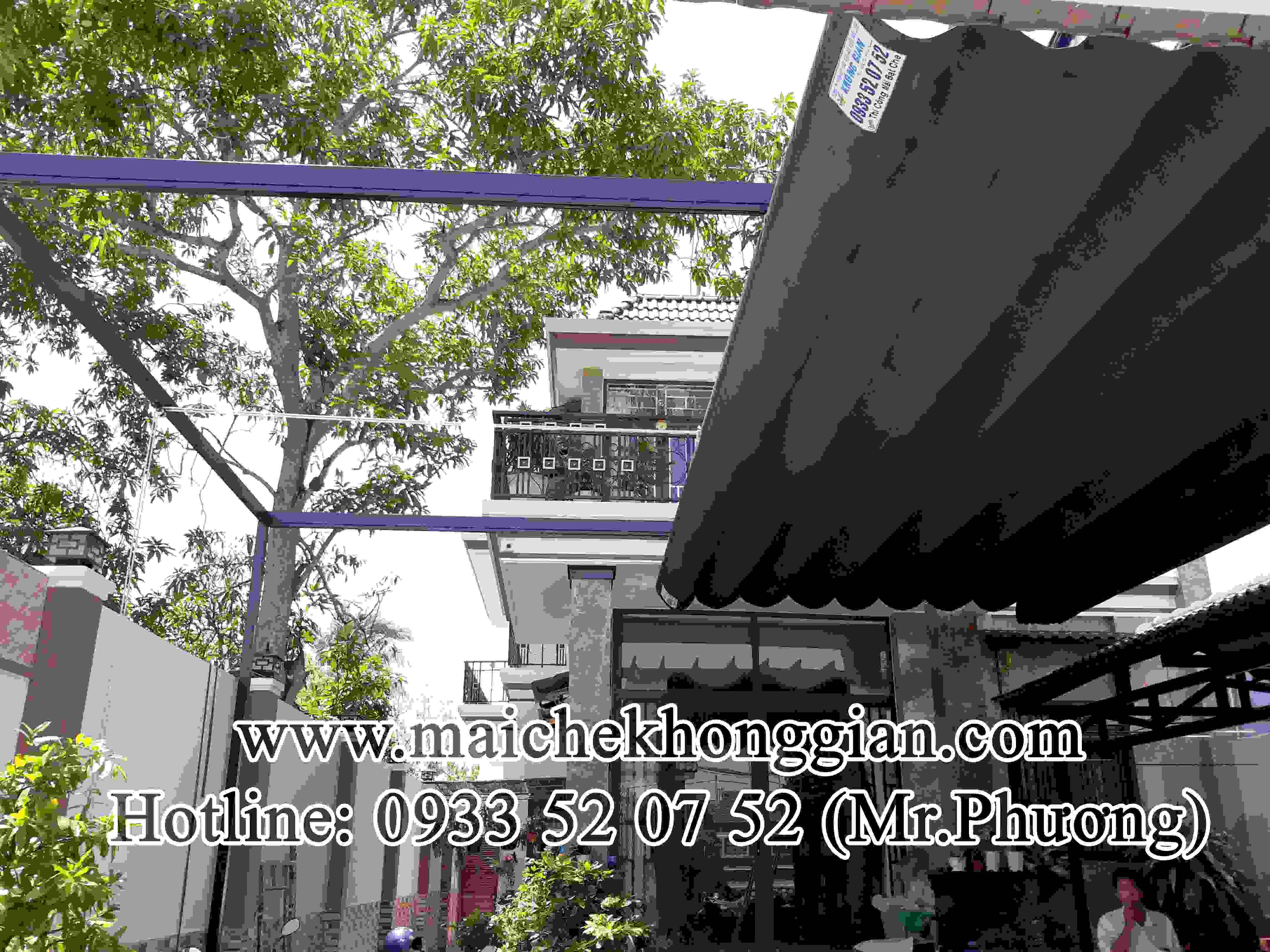 Mái Che Xếp Múi Thị Xã Ngã Bảy Hậu Giang