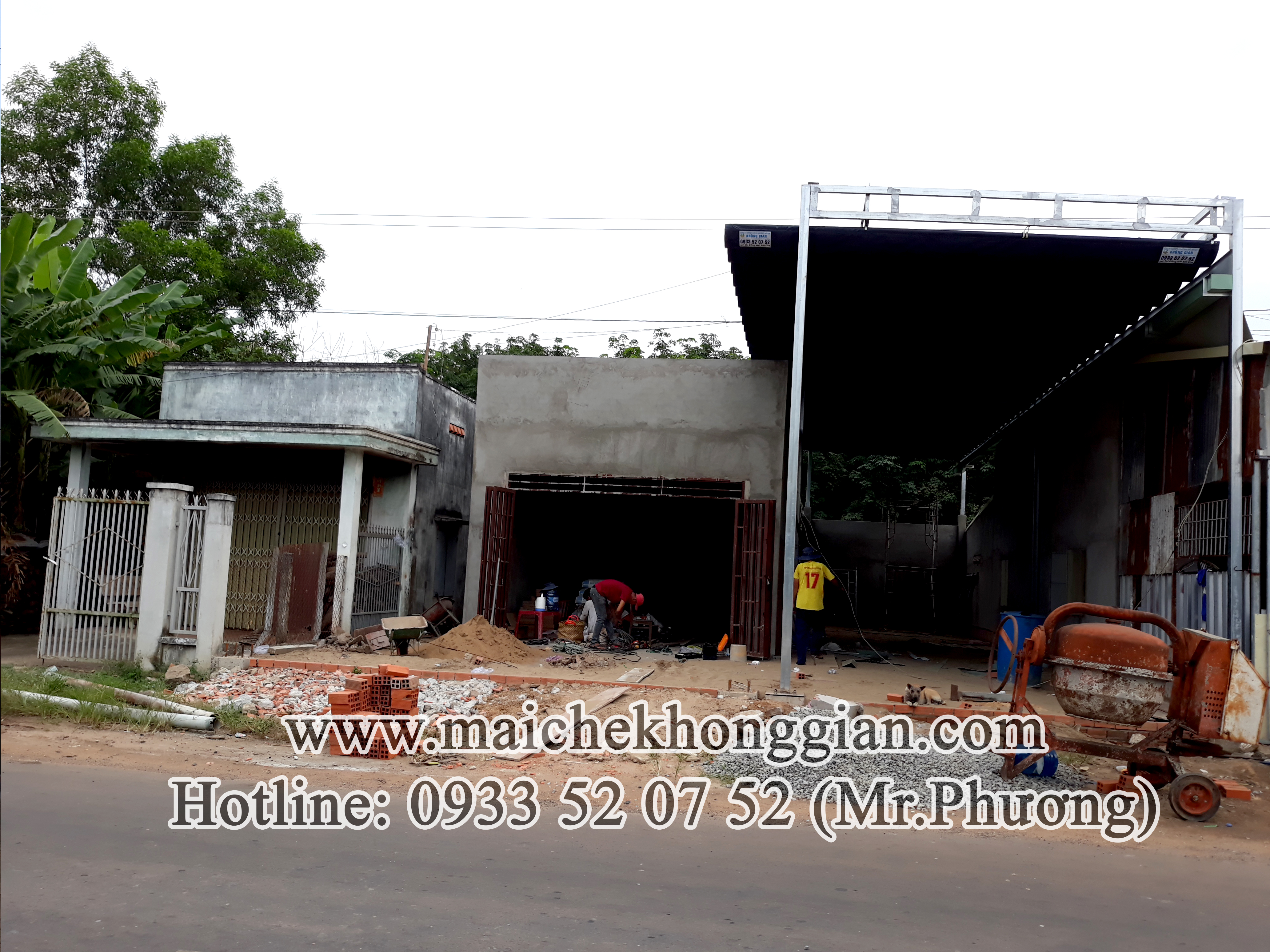 Mái bạt Tân Biên Tây Ninh