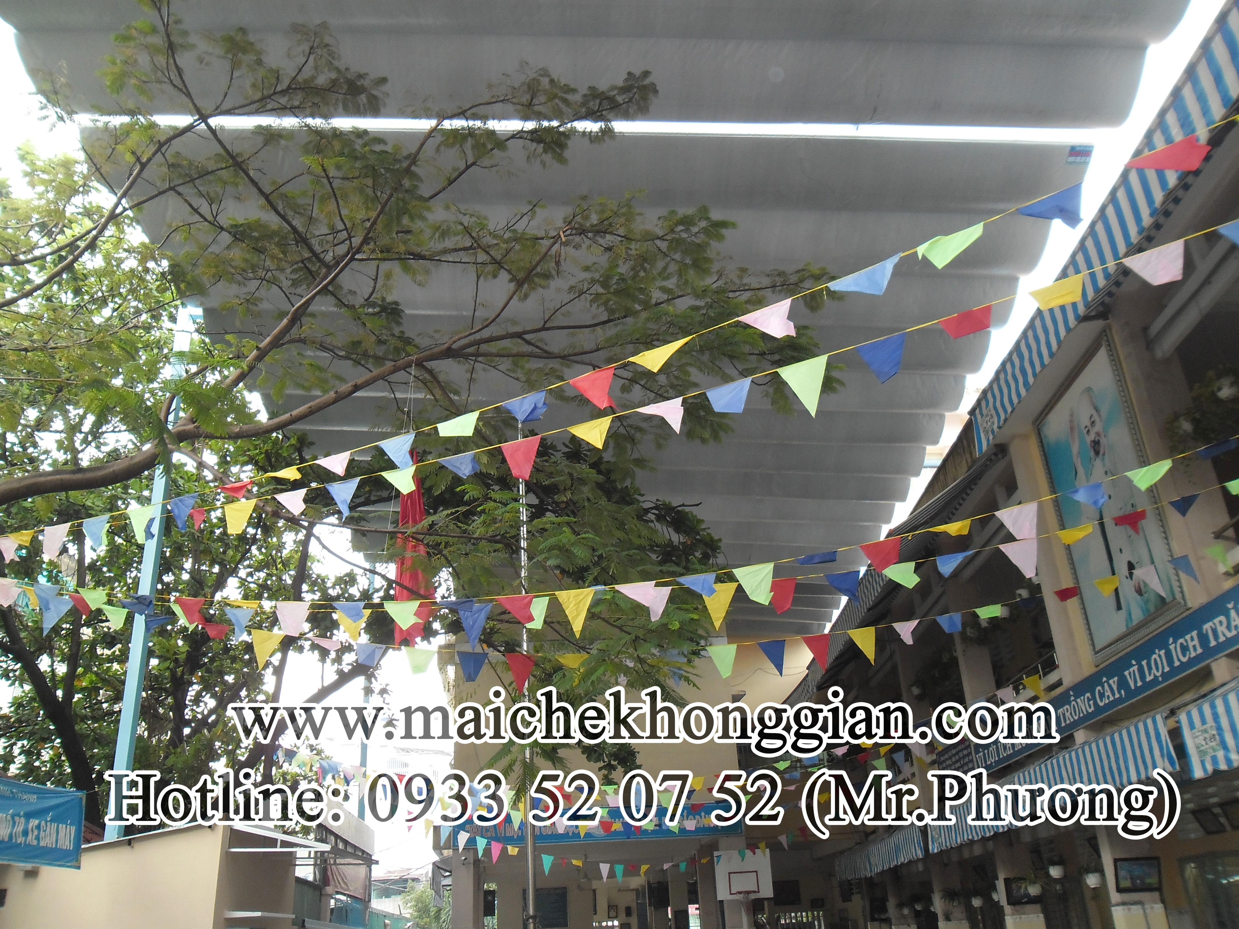 Mái che trường học Thạnh Hóa Long An