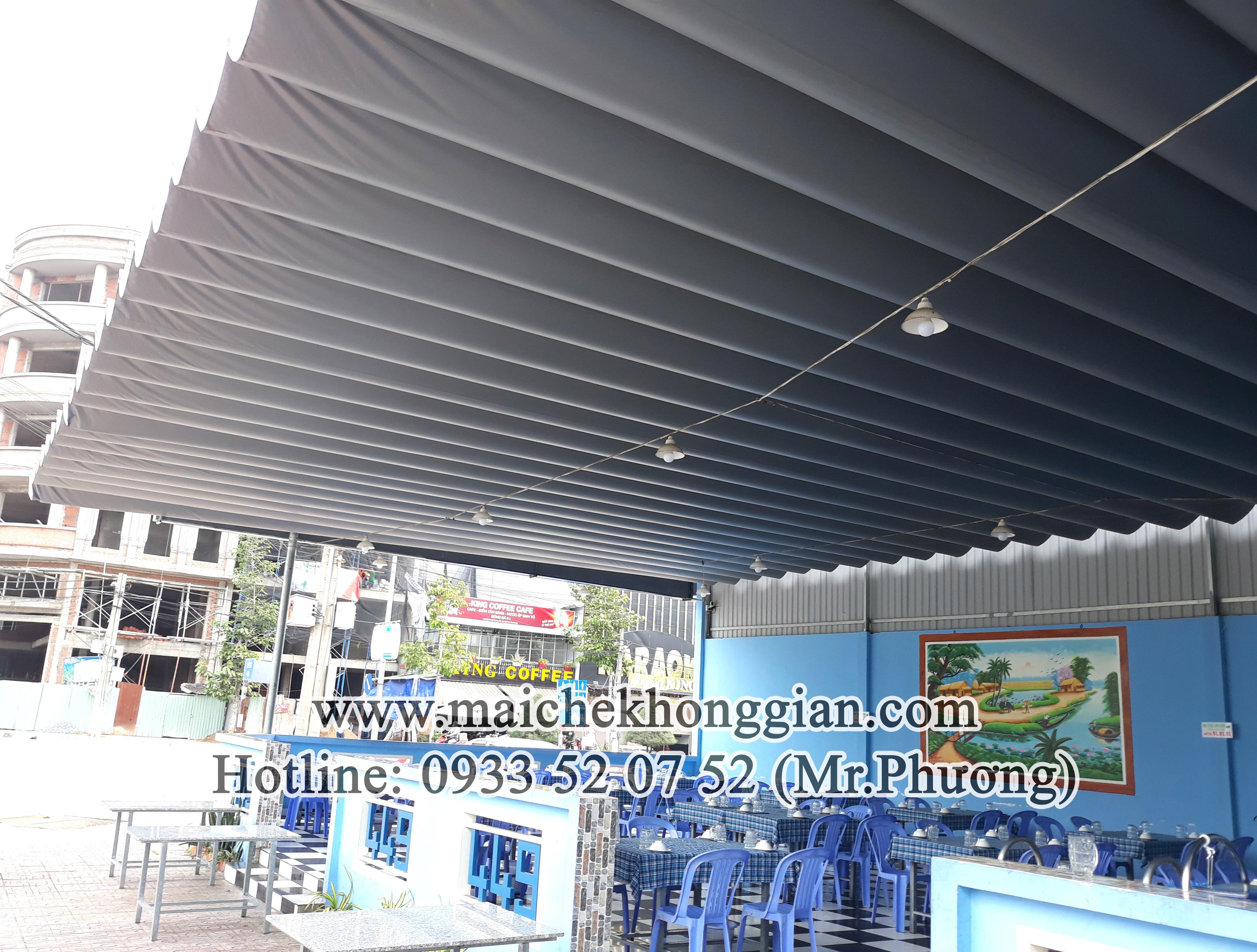 Mái bạt thị xã Bình Minh Vĩnh Long