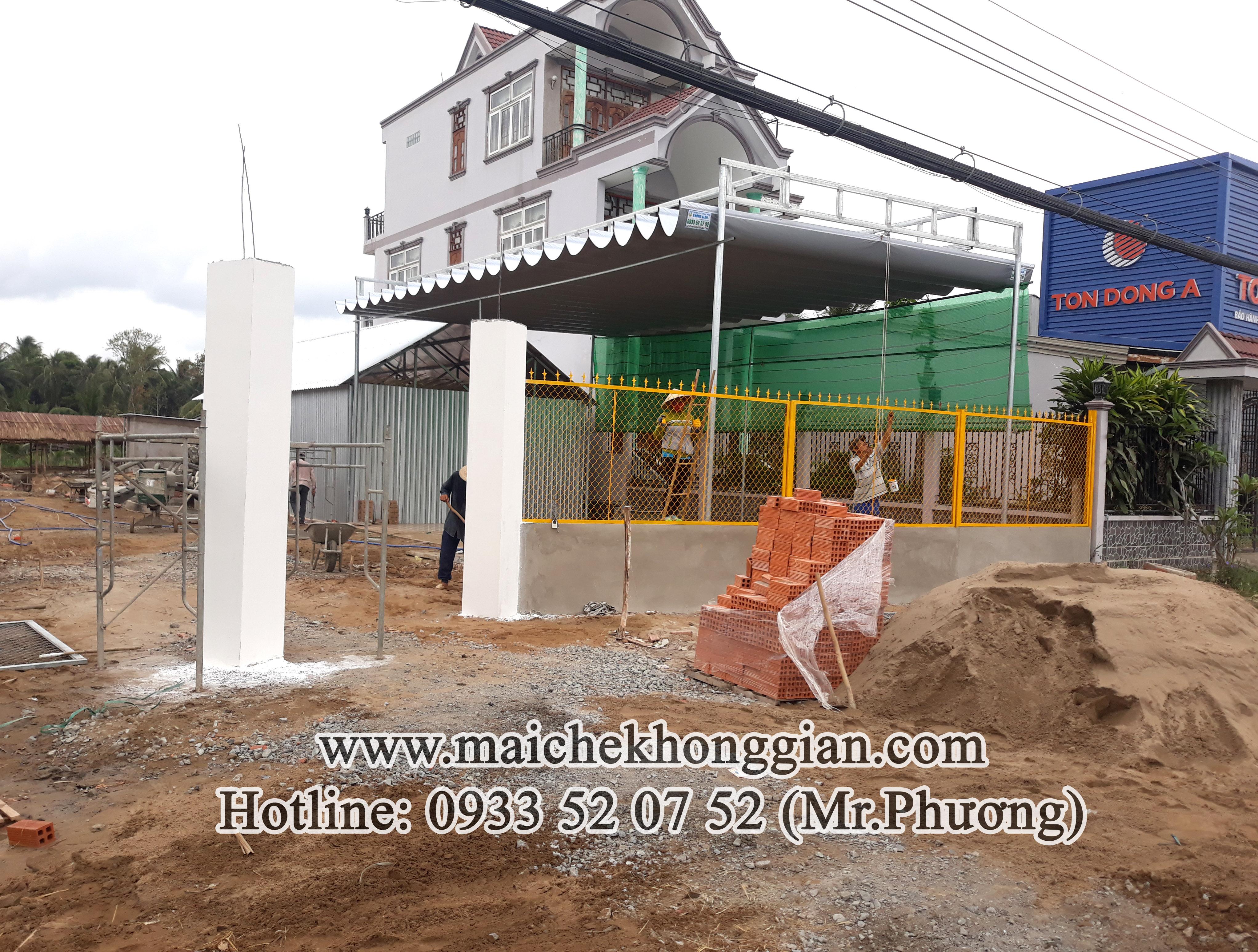 Mái Che Xếp Ly Gò Công Tây Tiền Giang