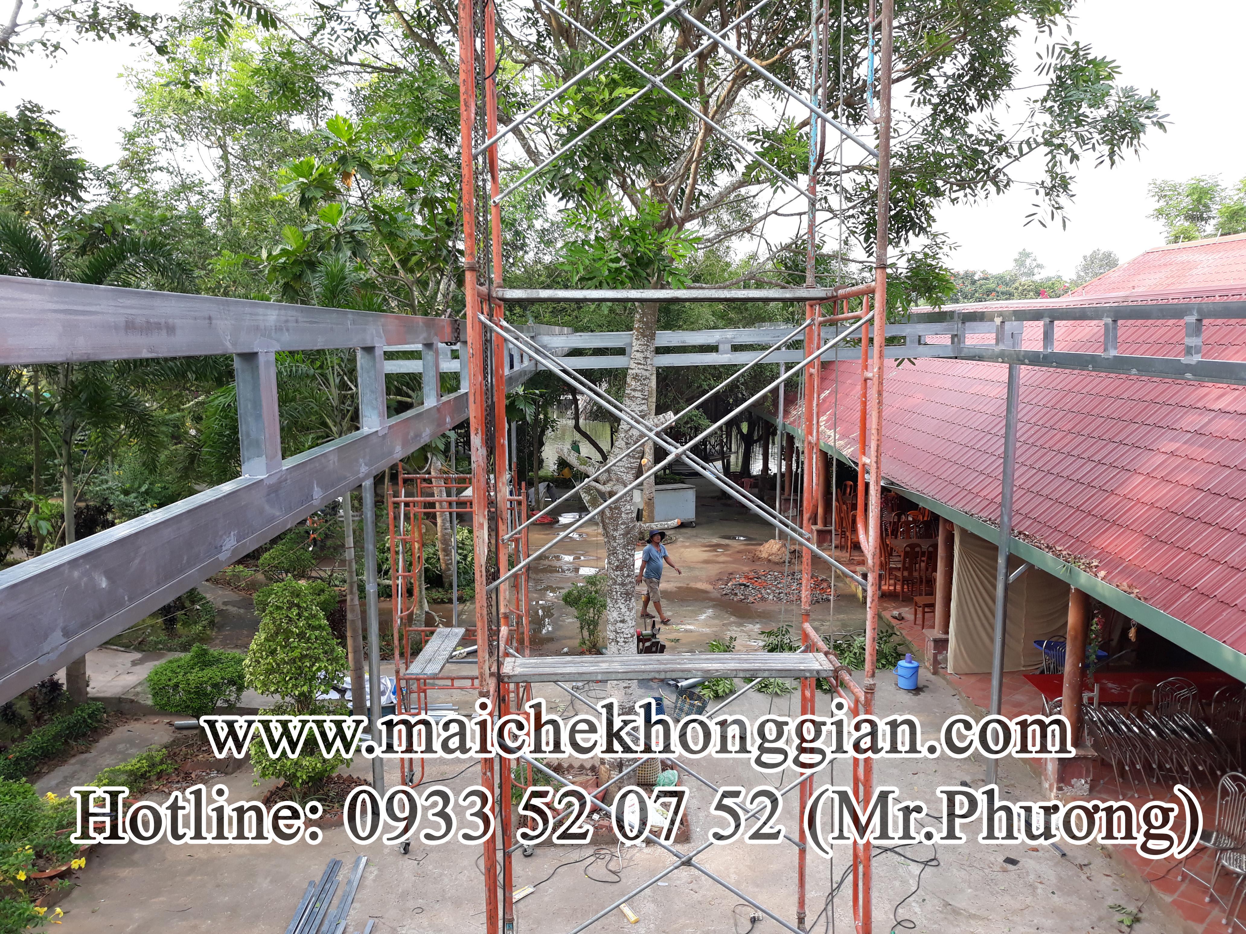 Mái Che Xếp Tân Phú Đông Tiền Giang
